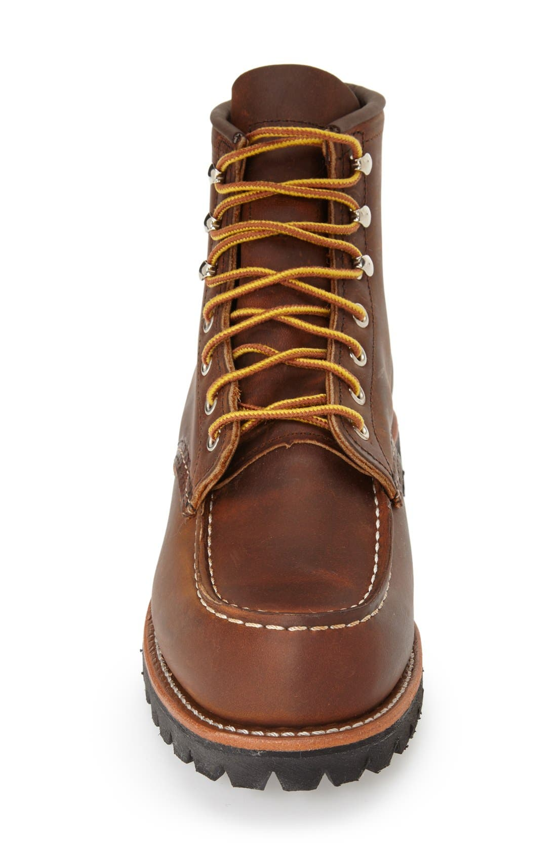 'Roughneck' Boot,                             Alternate thumbnail 2, color,                             COPPER ROUGH AND TOUGH LEATHER