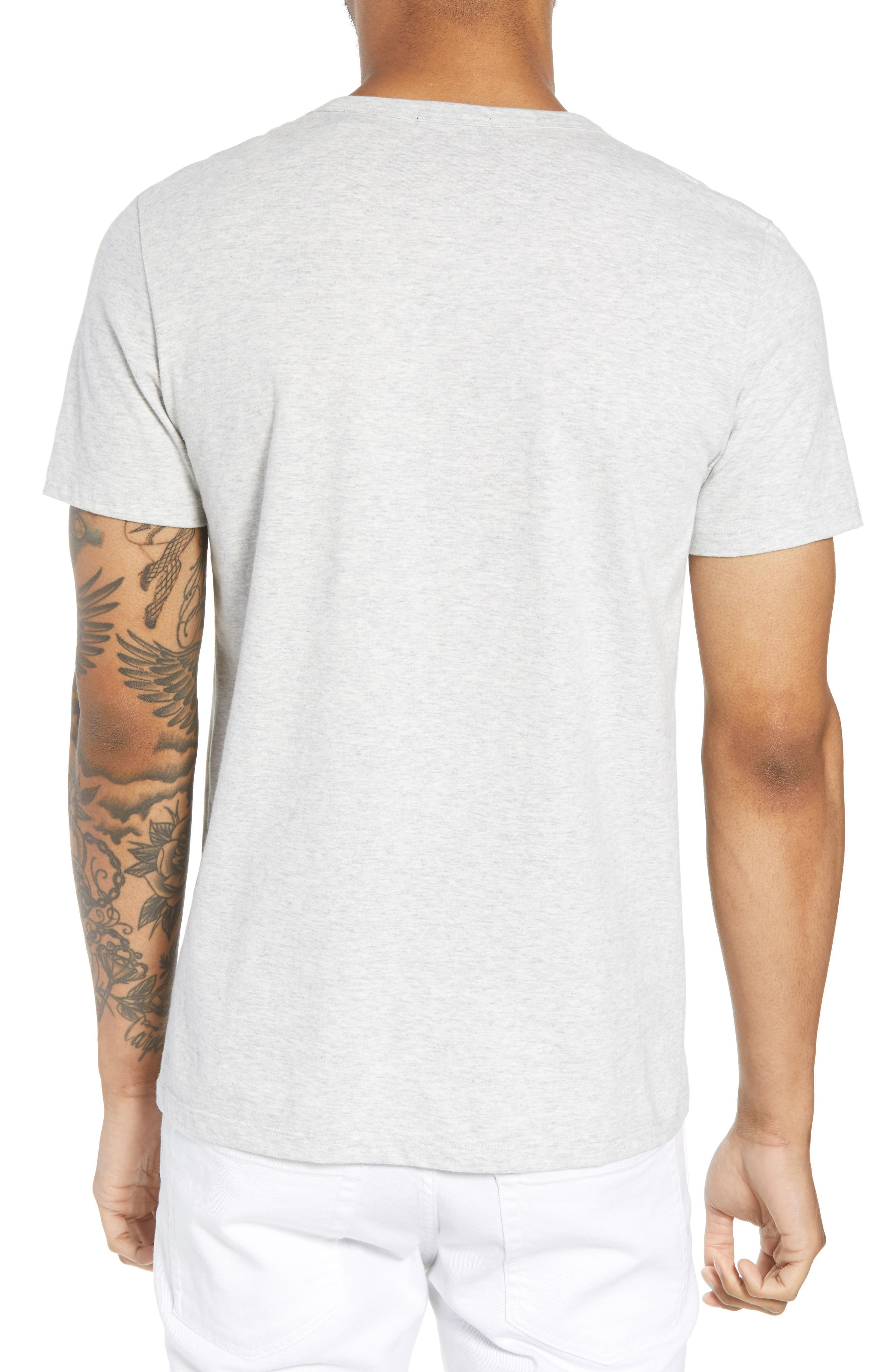 THEORY,                             Essential Pocket T-Shirt,                             Alternate thumbnail 2, color,                             020