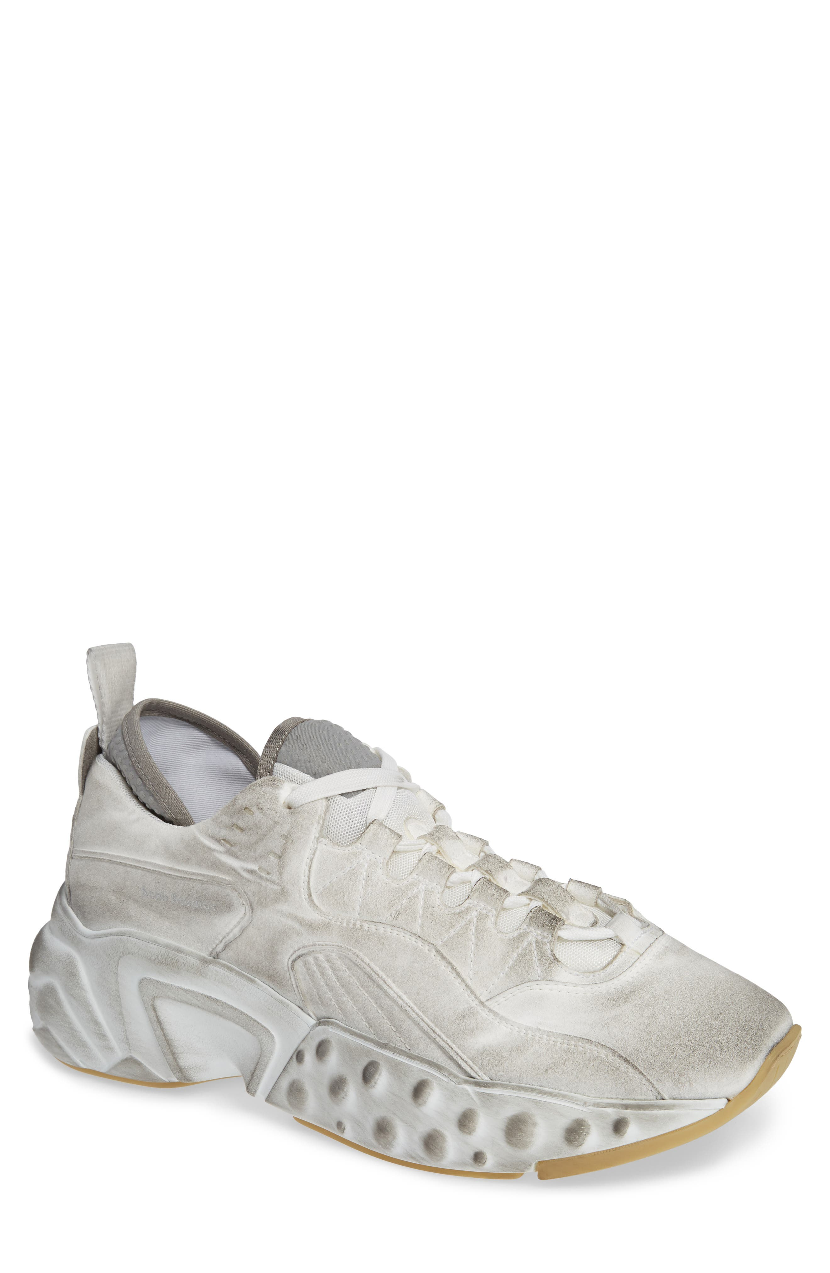 Rockaway Built-Up Sneaker,                             Main thumbnail 1, color,                             WHITE