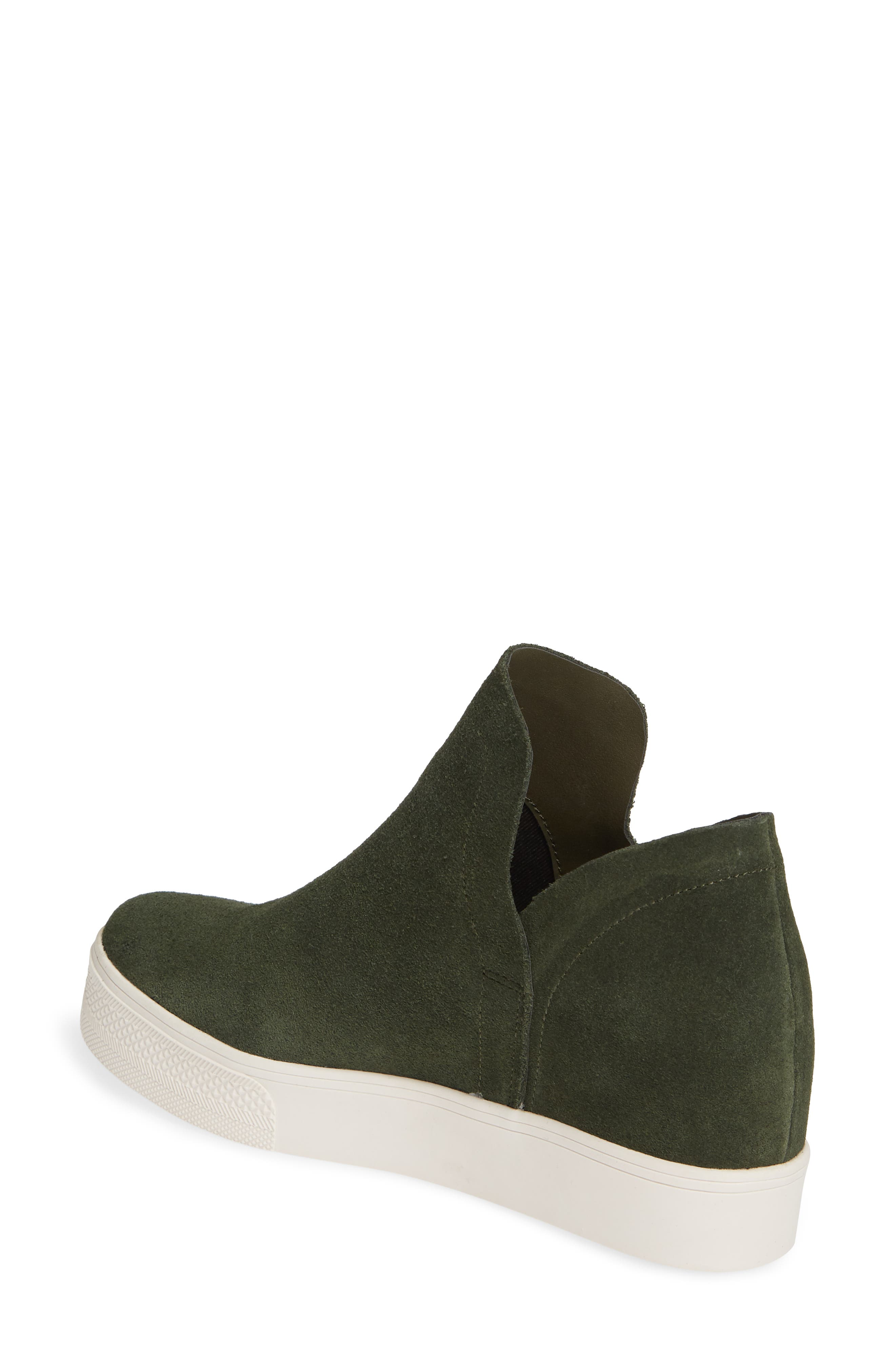 Wrangle Sneaker,                             Alternate thumbnail 2, color,                             OLIVE SUEDE