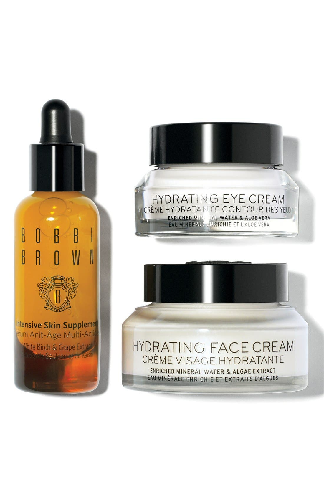 BOBBI BROWN,                             'Hydrating Skin Supplements' Set,                             Main thumbnail 1, color,                             000