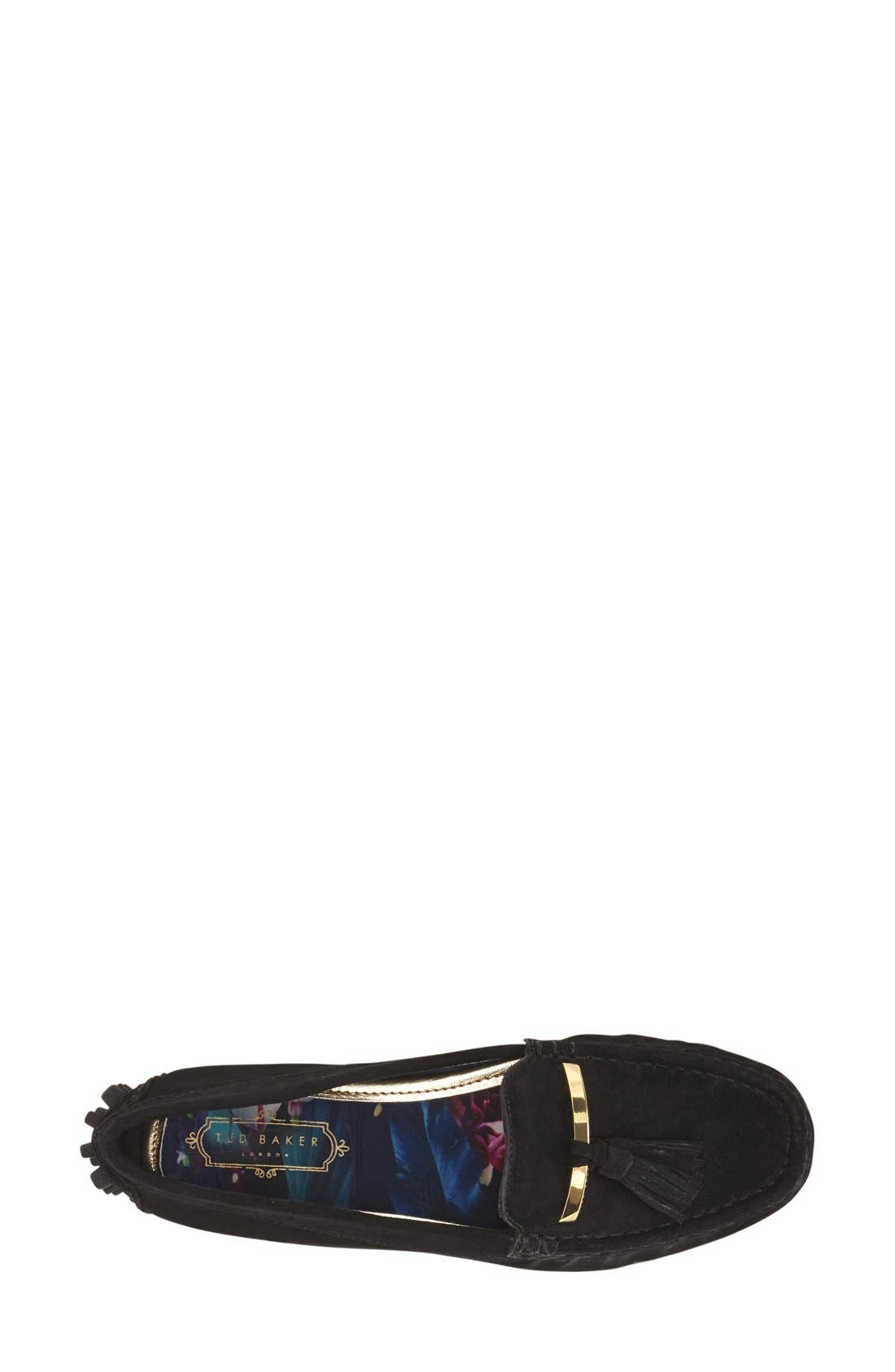 TED BAKER LONDON,                             'Harlii' Driving Loafer,                             Alternate thumbnail 2, color,                             010
