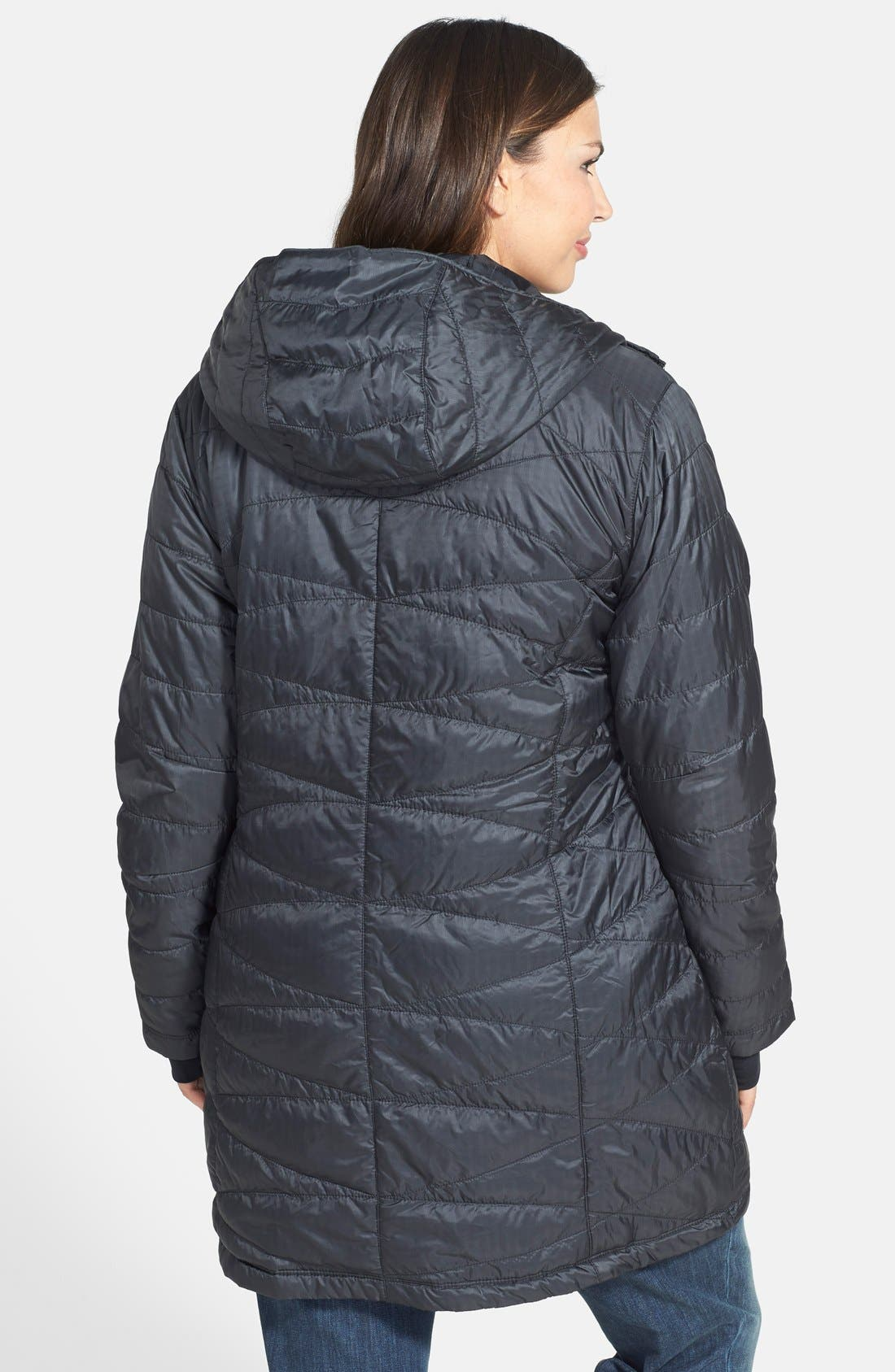'Mighty Lite' Hooded Walking Coat,                             Alternate thumbnail 2, color,                             011