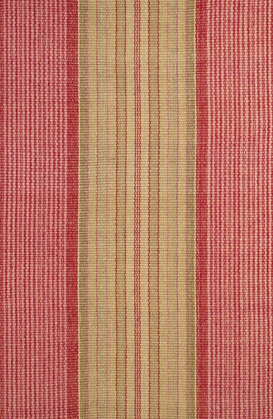 'Framboise' Cotton Rug,                             Main thumbnail 1, color,                             RED/ MULTI