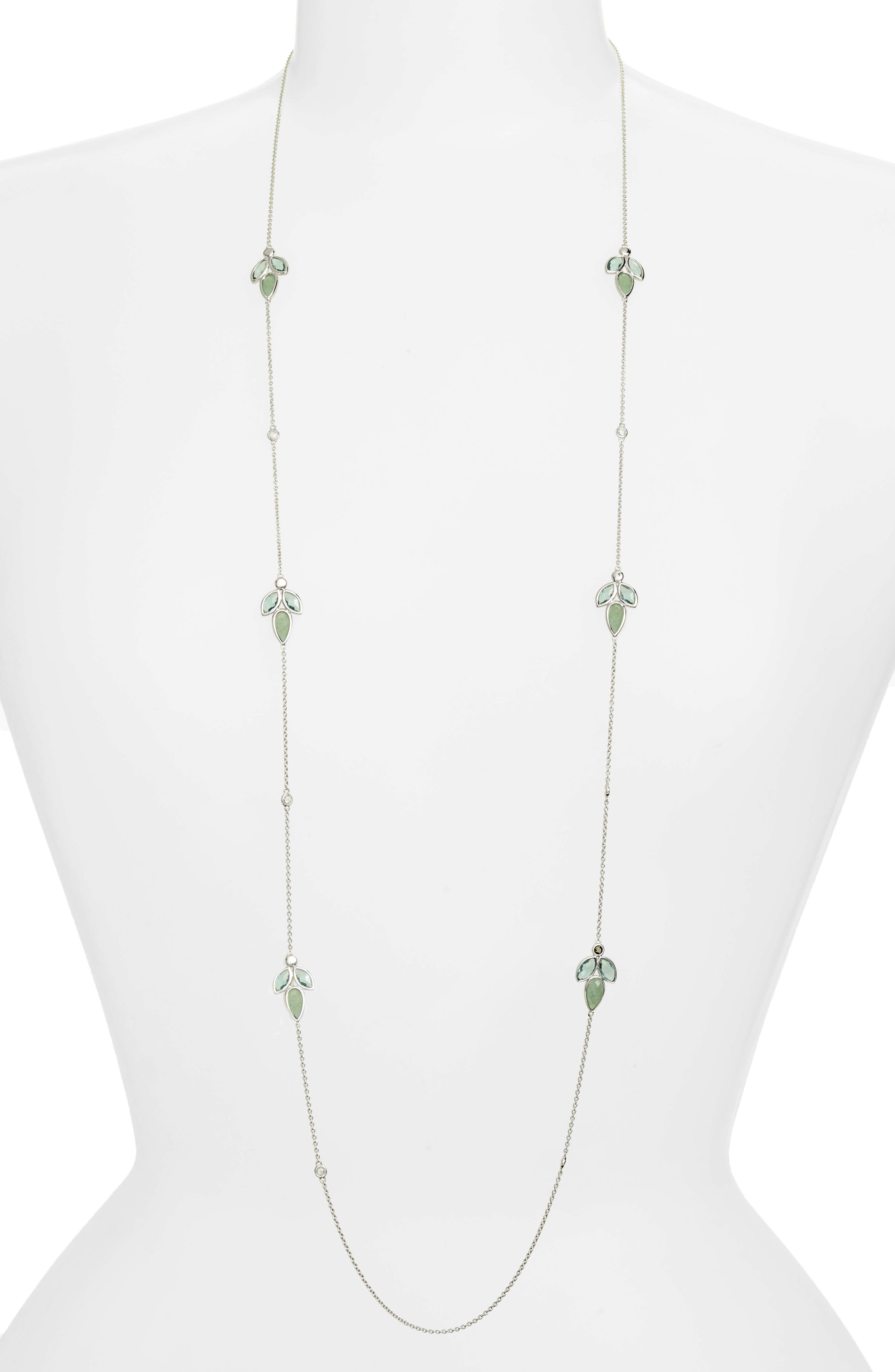 Lakeside Station Necklace,                         Main,                         color, 300
