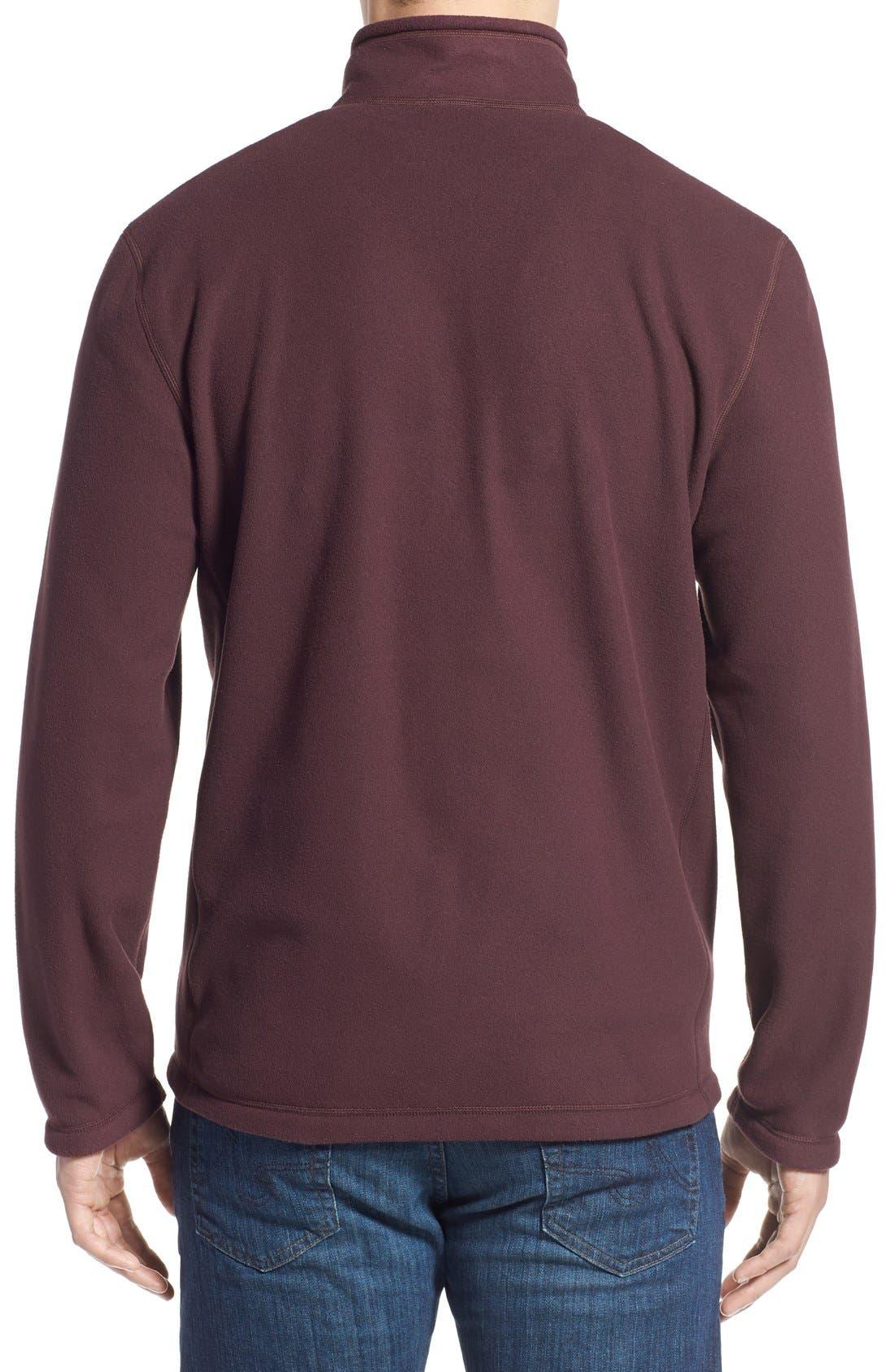'TKA 100 Glacier' Quarter Zip Fleece Pullover,                             Alternate thumbnail 70, color,