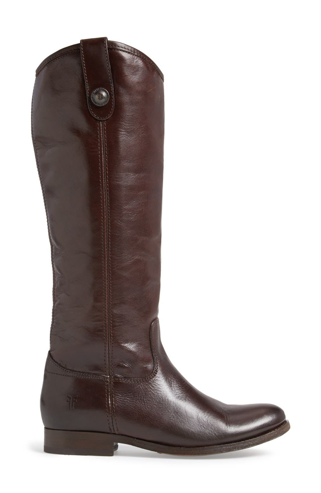 'Melissa Button' Leather Riding Boot,                             Alternate thumbnail 112, color,