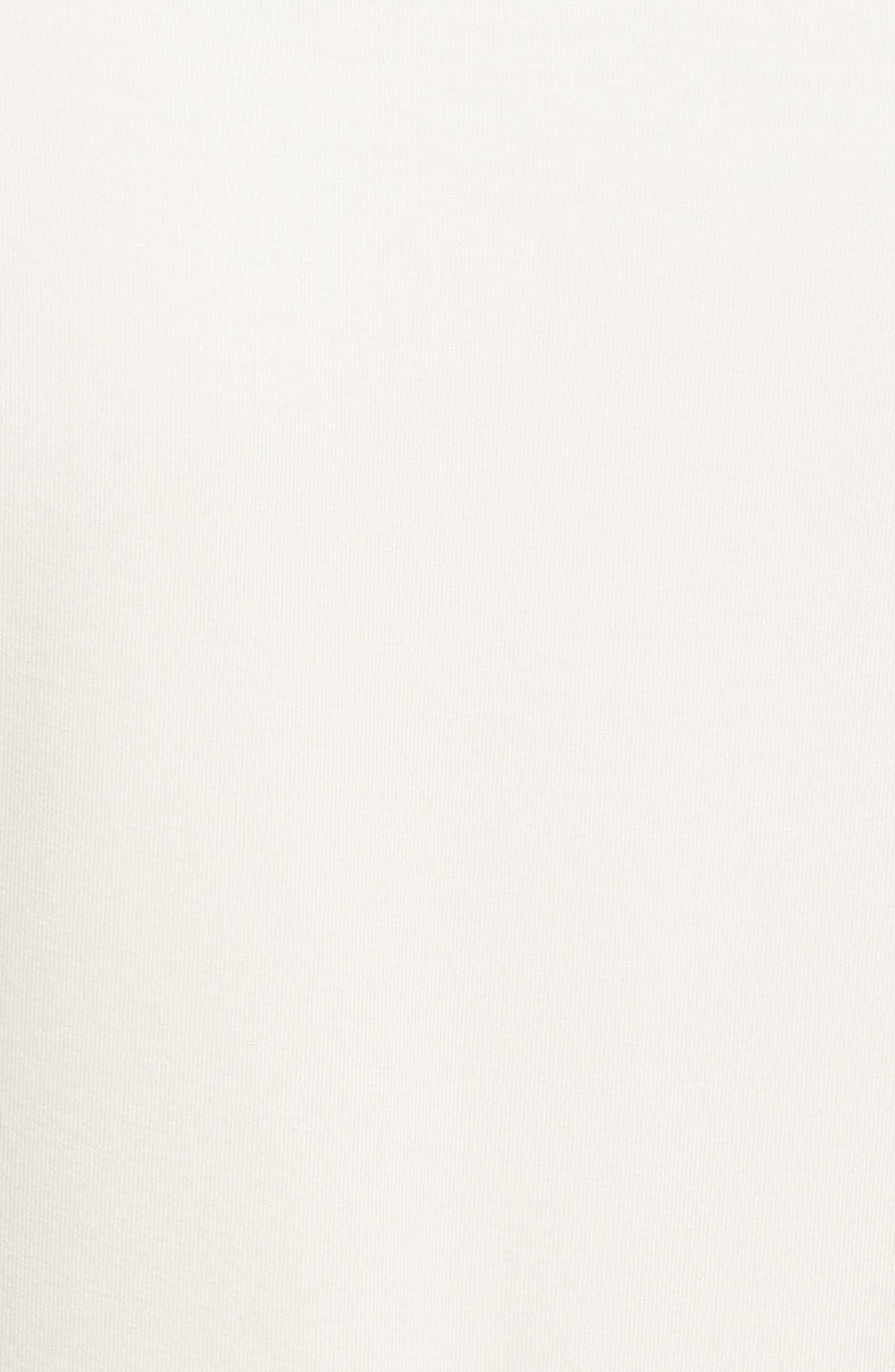 Patchwork Faux Wrap Midi Dress,                             Alternate thumbnail 5, color,                             451