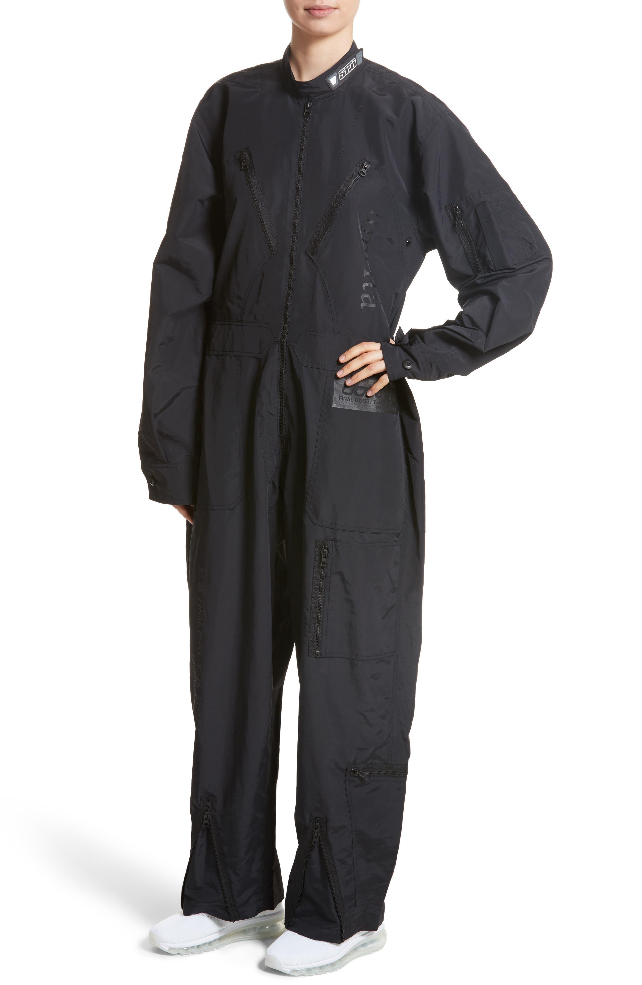 Kaneda Boiler Suit,                             Alternate thumbnail 4, color,                             001