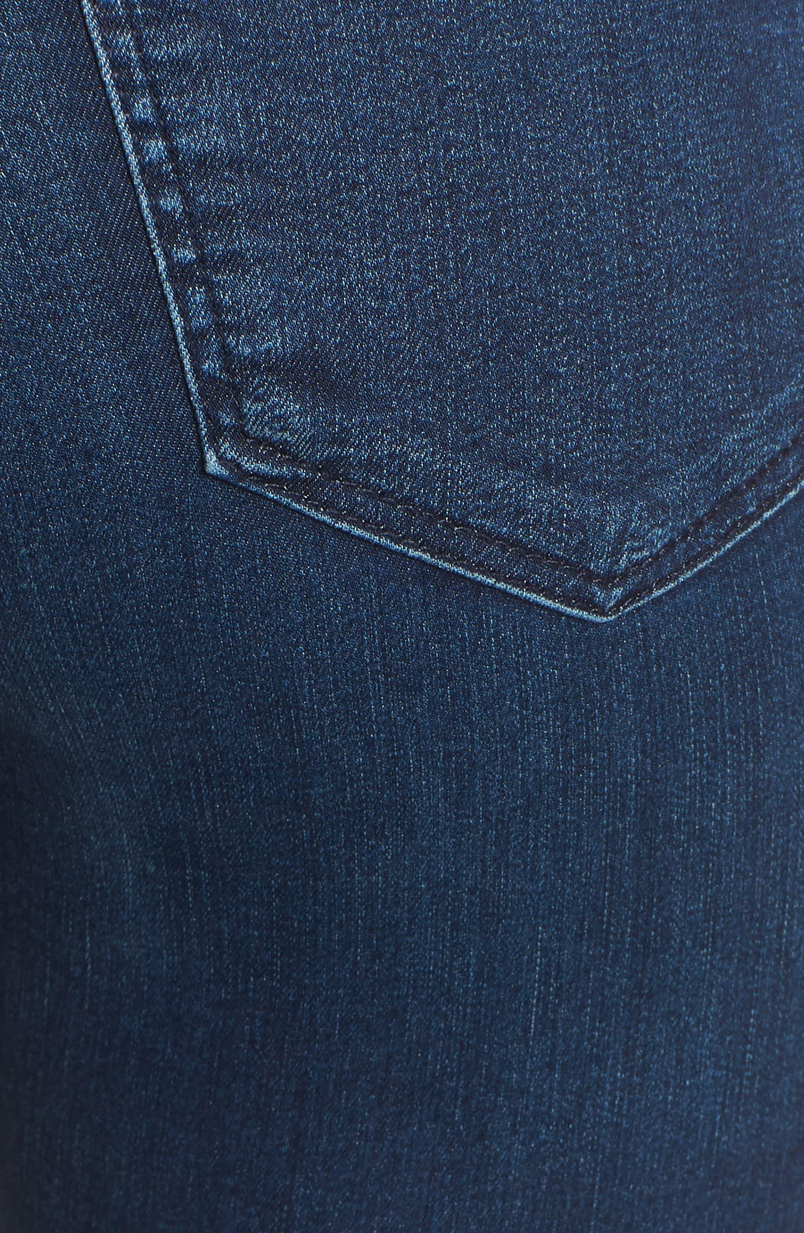 Moto Joni Indigo Jeans,                             Alternate thumbnail 5, color,                             400