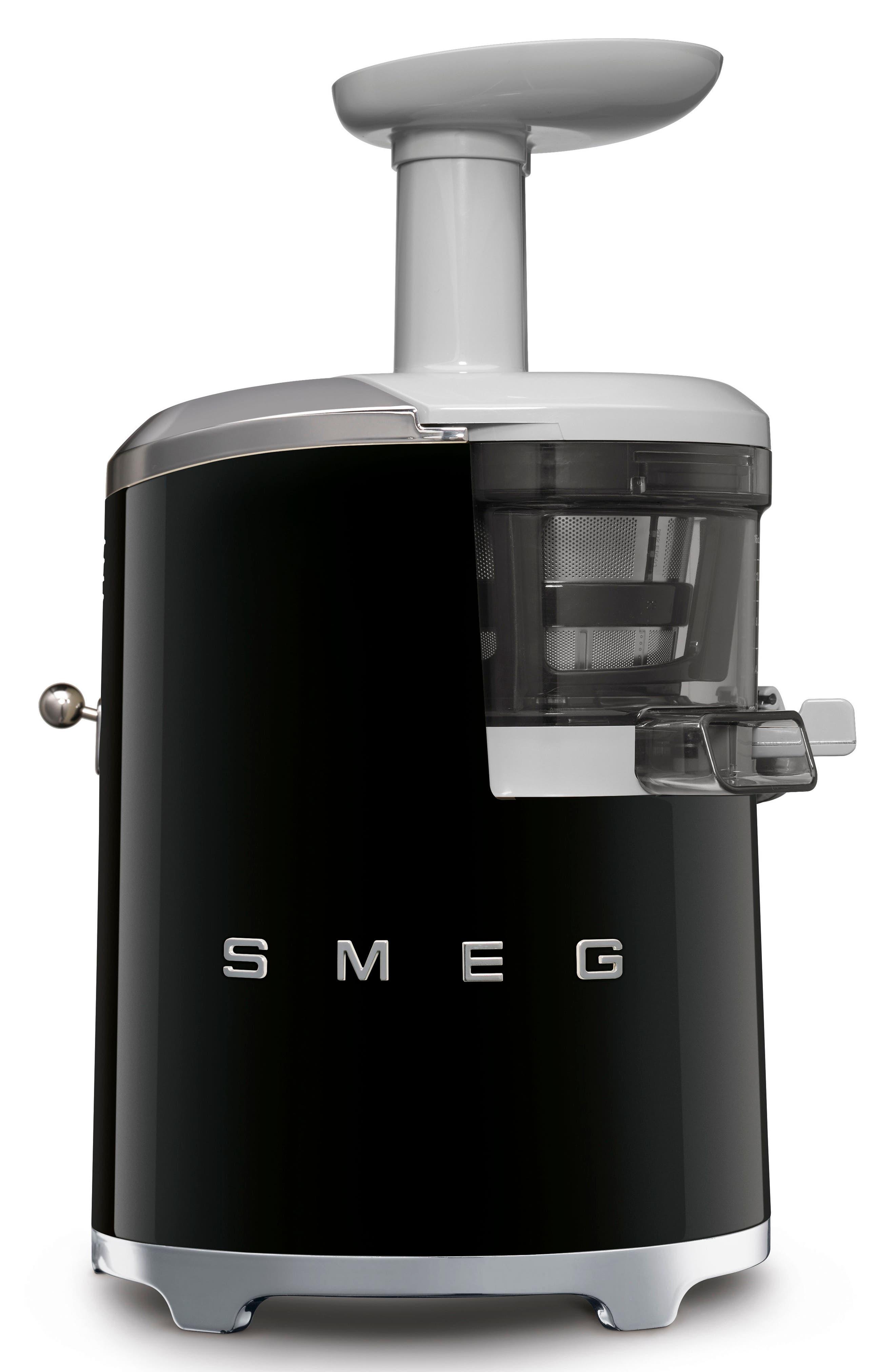 SMEG,                             '50s Retro Style Slow Juicer,                             Alternate thumbnail 3, color,                             BLACK