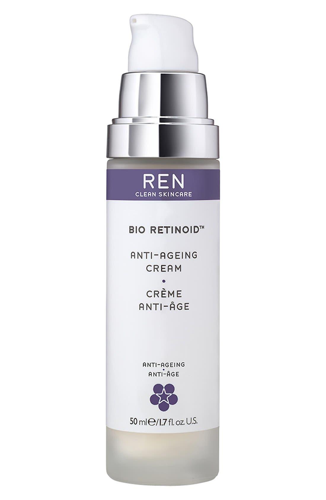 SPACE.NK.apothecary REN Bio Retinoid Anti-Aging Cream,                             Main thumbnail 1, color,                             NO COLOR