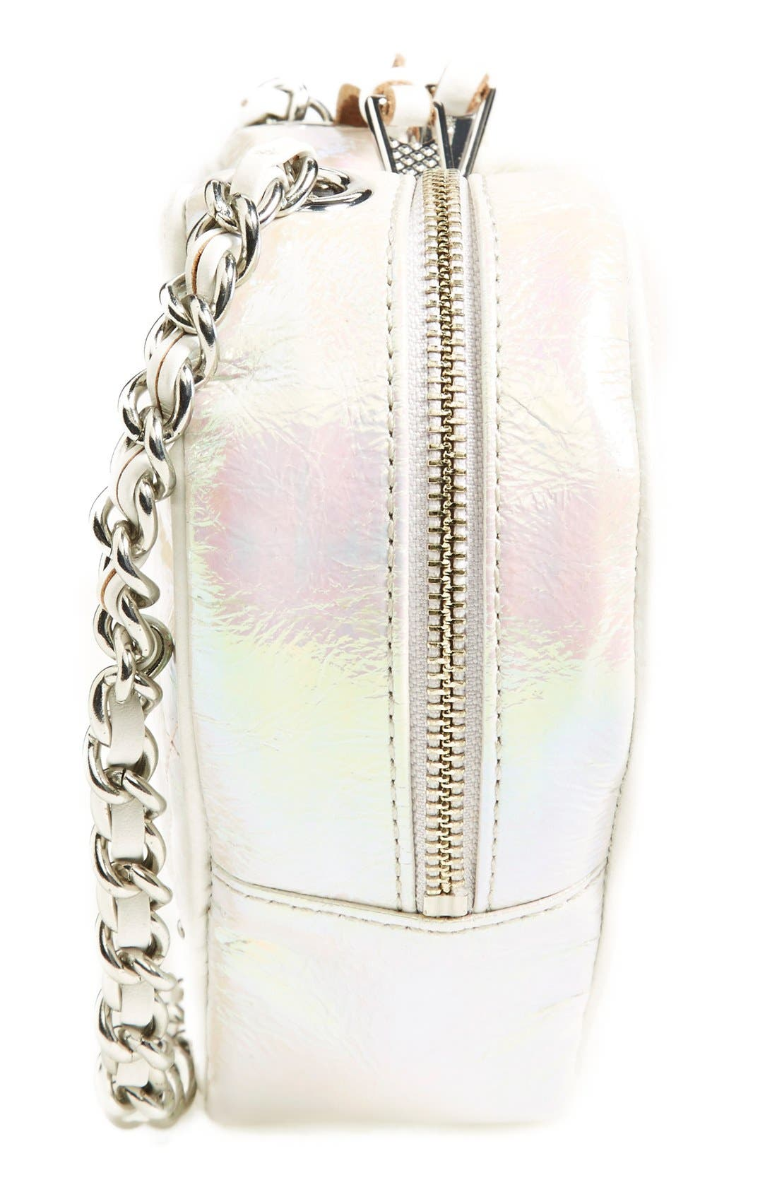 Heart Crossbody Bag,                             Alternate thumbnail 4, color,                             100