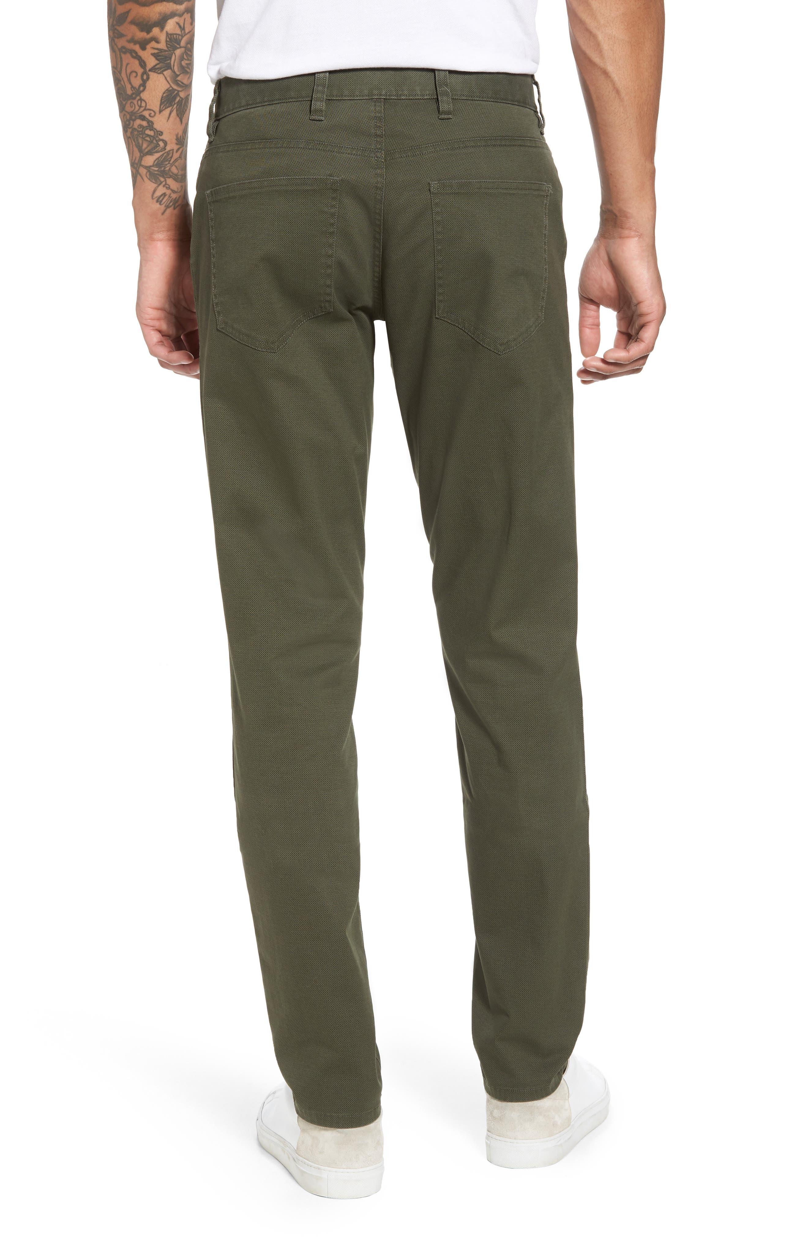 Textured Stretch Cotton Pants,                             Alternate thumbnail 2, color,                             301