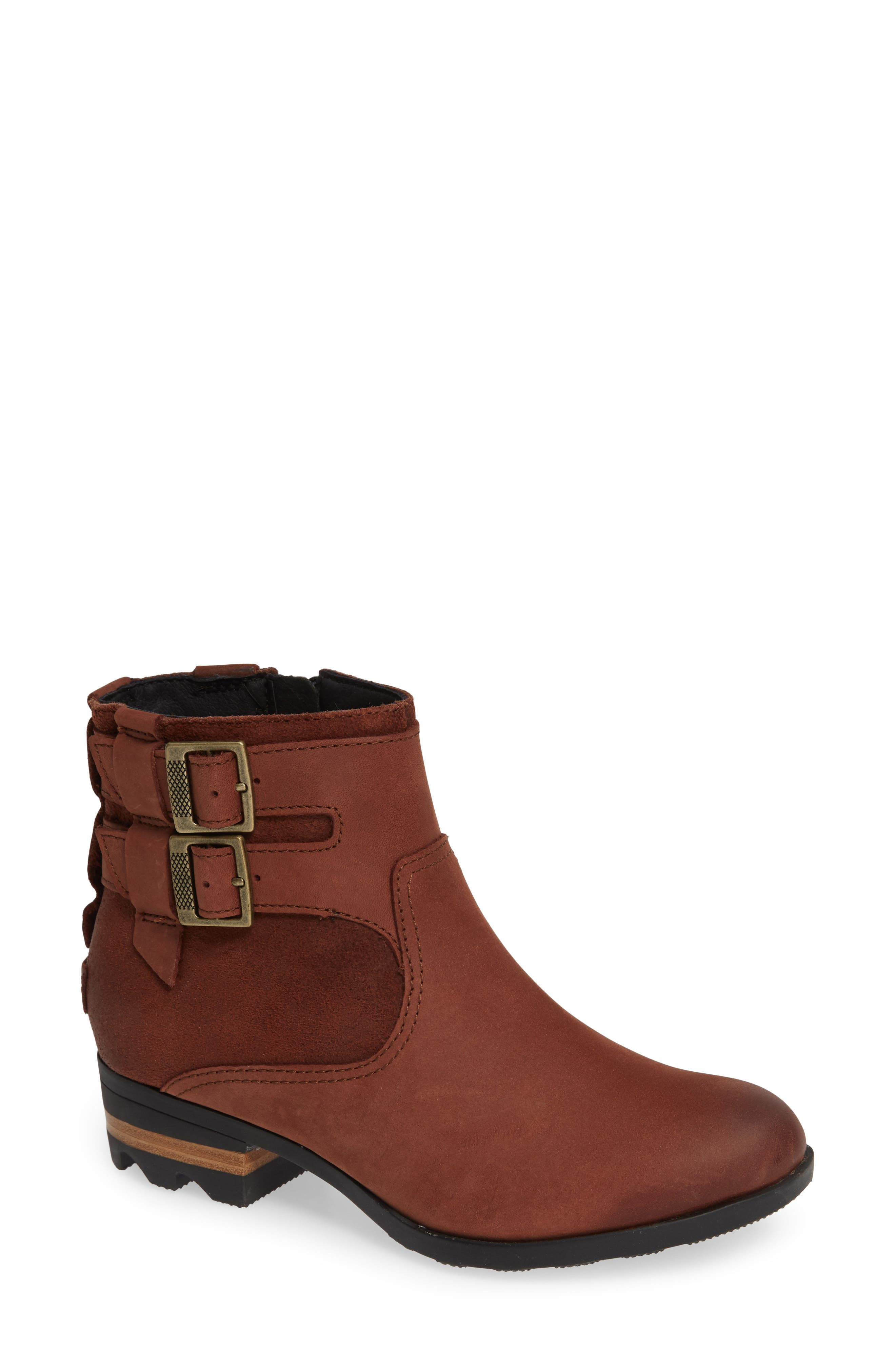 Sorel Lolla Waterproof Bootie, Brown