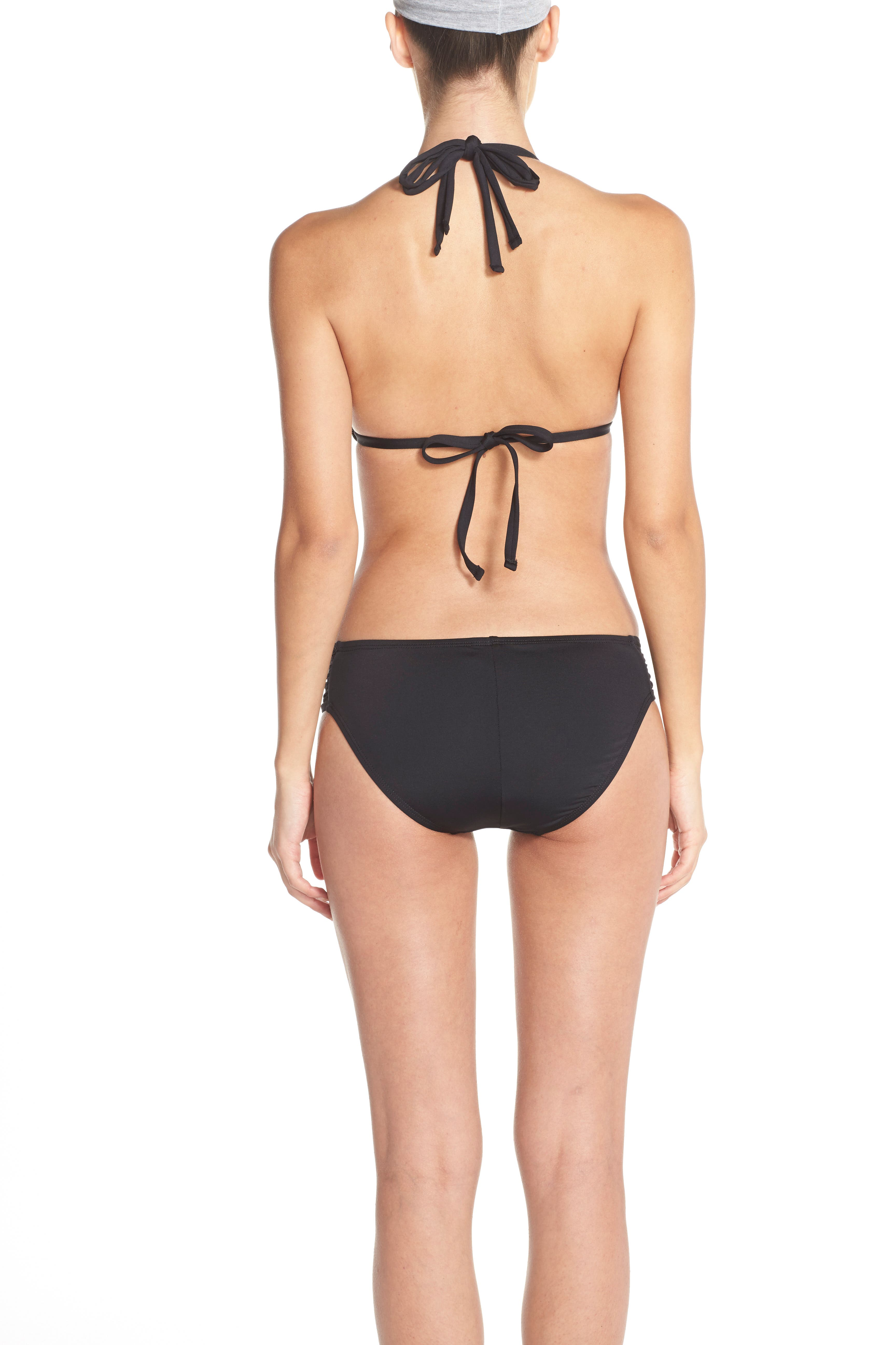 Island Goddess Hipster Bikini Bottoms,                             Alternate thumbnail 78, color,