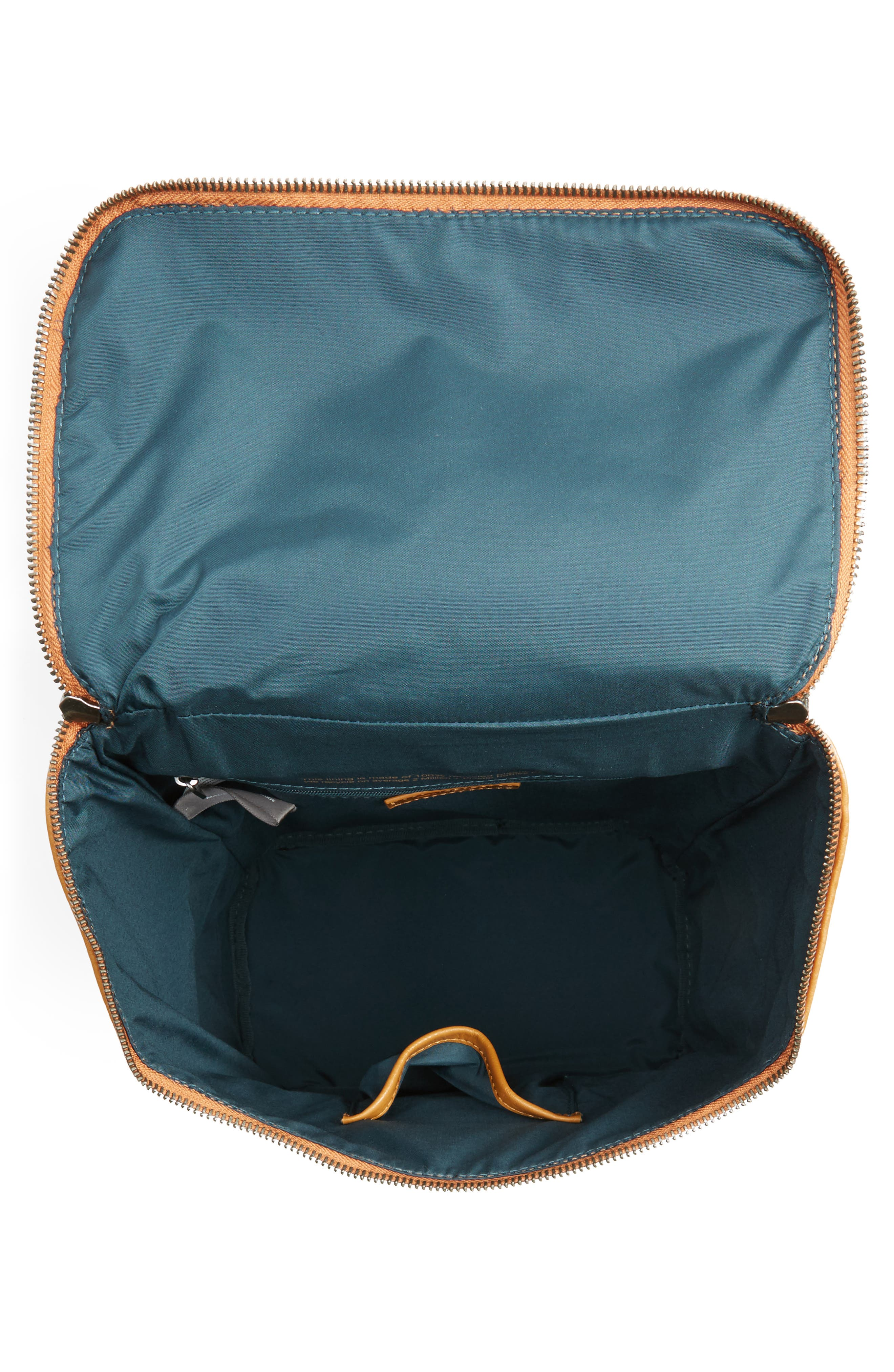 'Brave' Faux Leather Backpack,                             Alternate thumbnail 84, color,