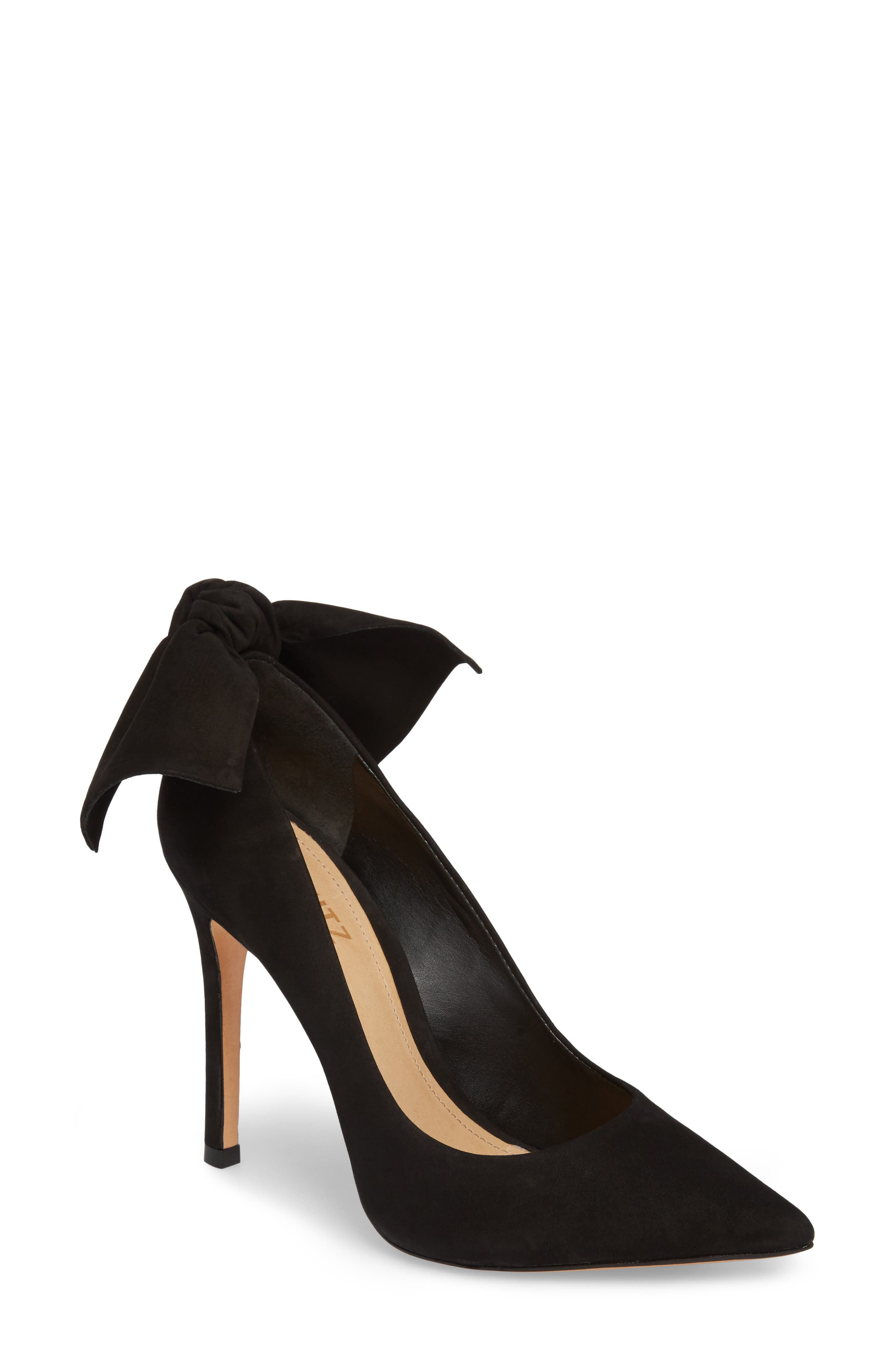 SCHUTZ,                             Blasiana Bow Pump,                             Main thumbnail 1, color,                             001