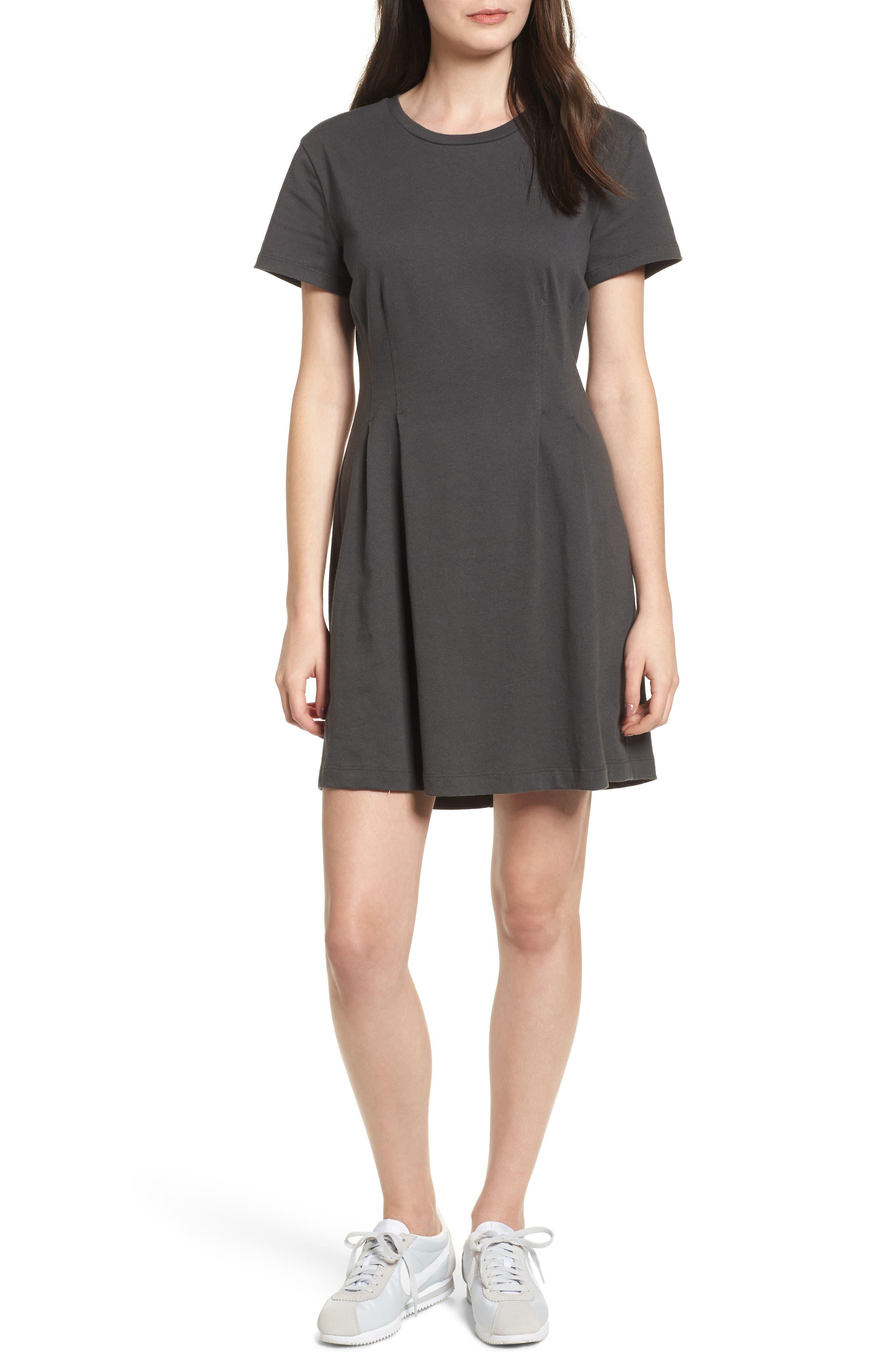Cotton T-Shirt Dress,                         Main,                         color, 020