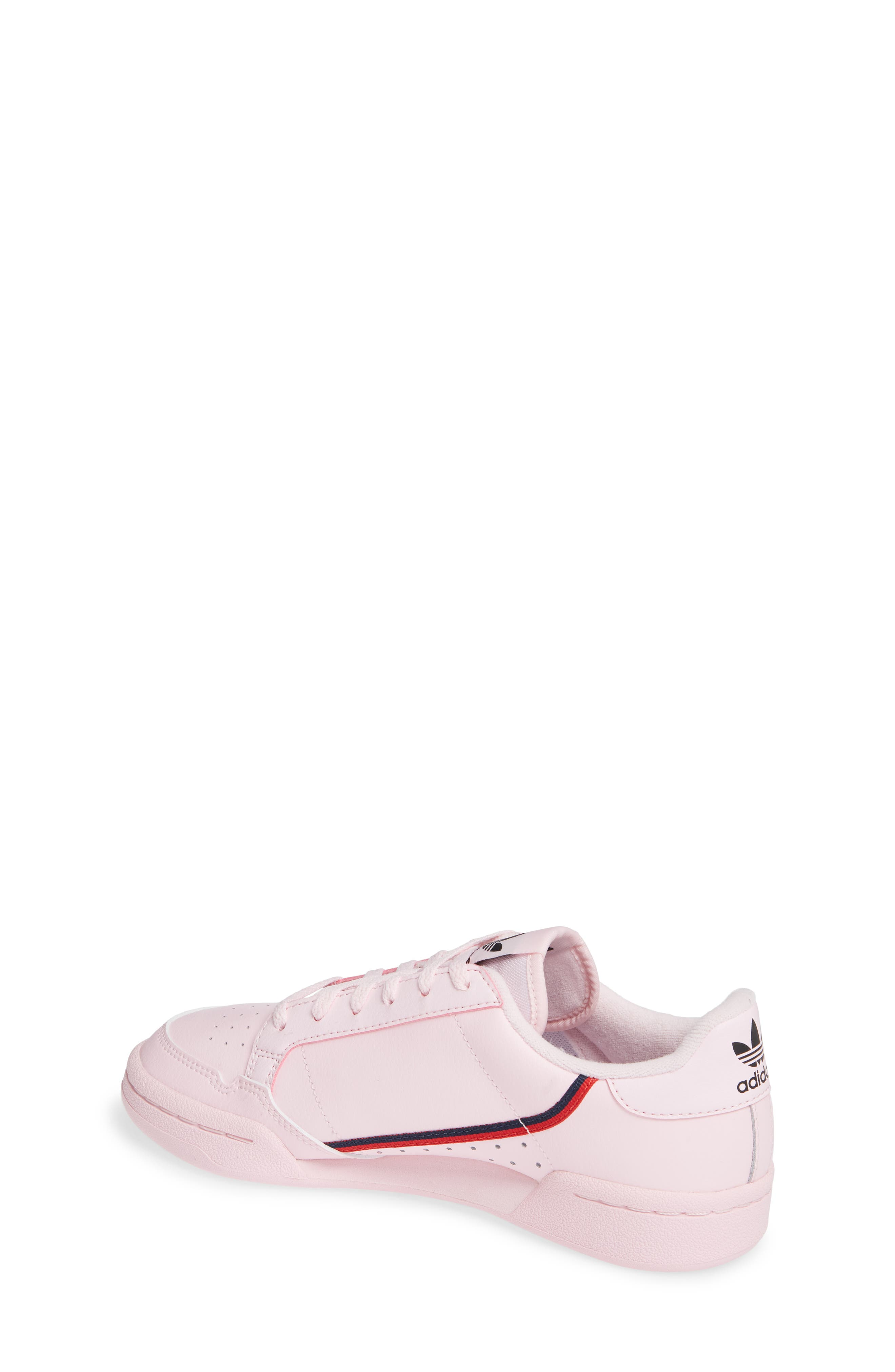 ADIDAS,                             Continental 80 Sneaker,                             Alternate thumbnail 2, color,                             CLEAR PINK