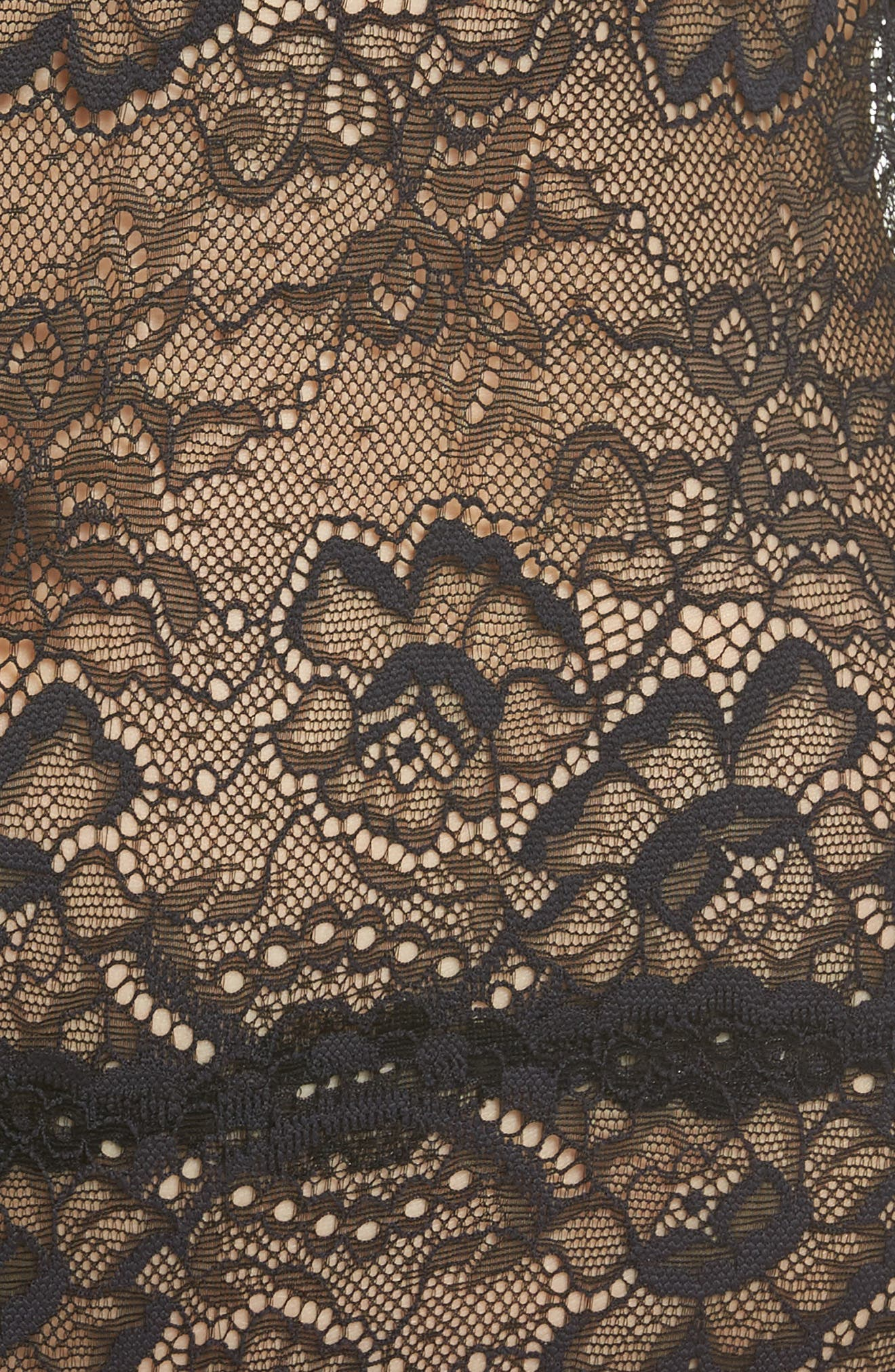 All Lace Bodysuit,                             Alternate thumbnail 5, color,                             012