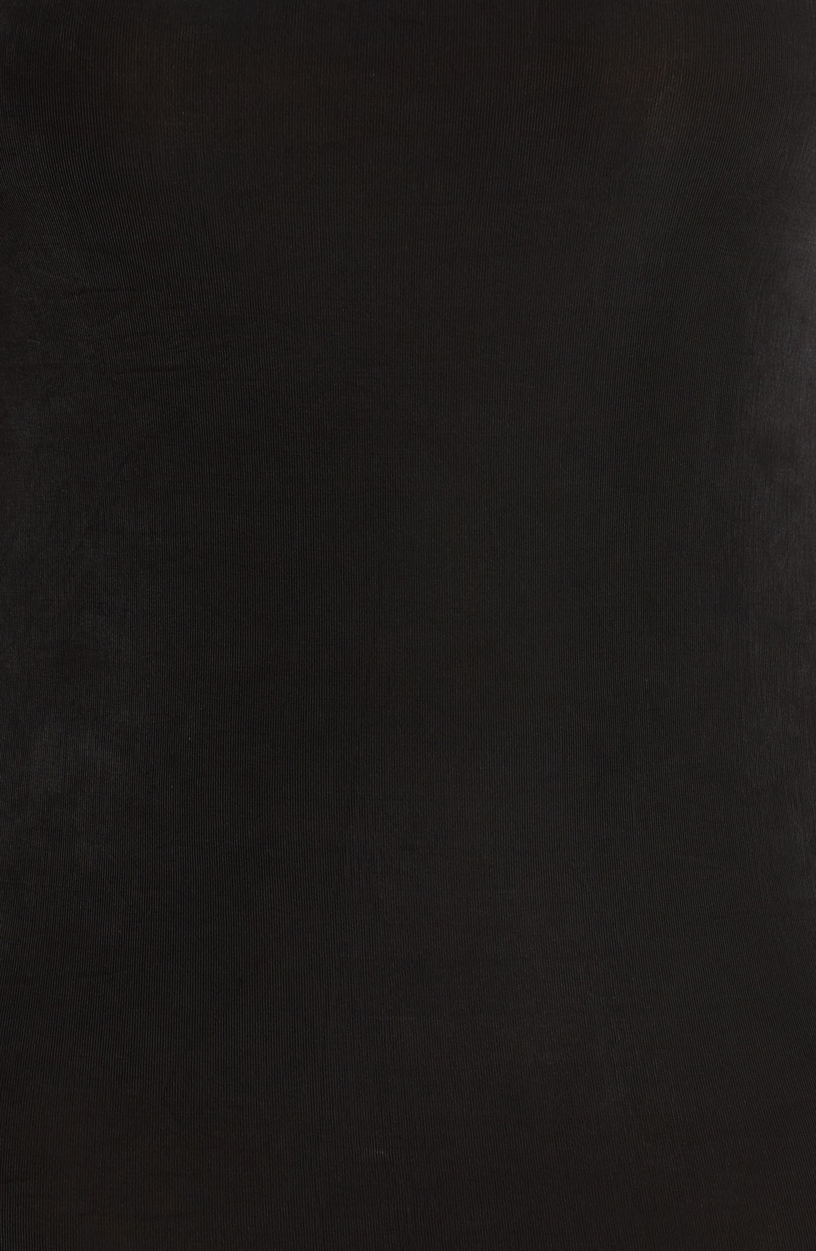 Sleeveless Maxi Tank Dress,                             Alternate thumbnail 6, color,                             BLACK