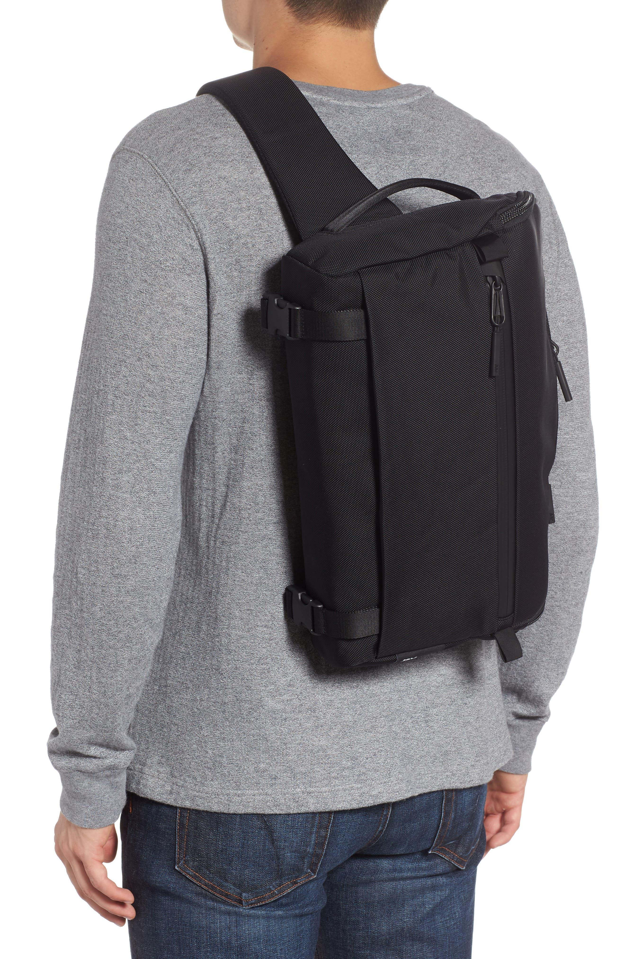 Travel Sling Crossbody Bag,                             Alternate thumbnail 2, color,                             BLACK