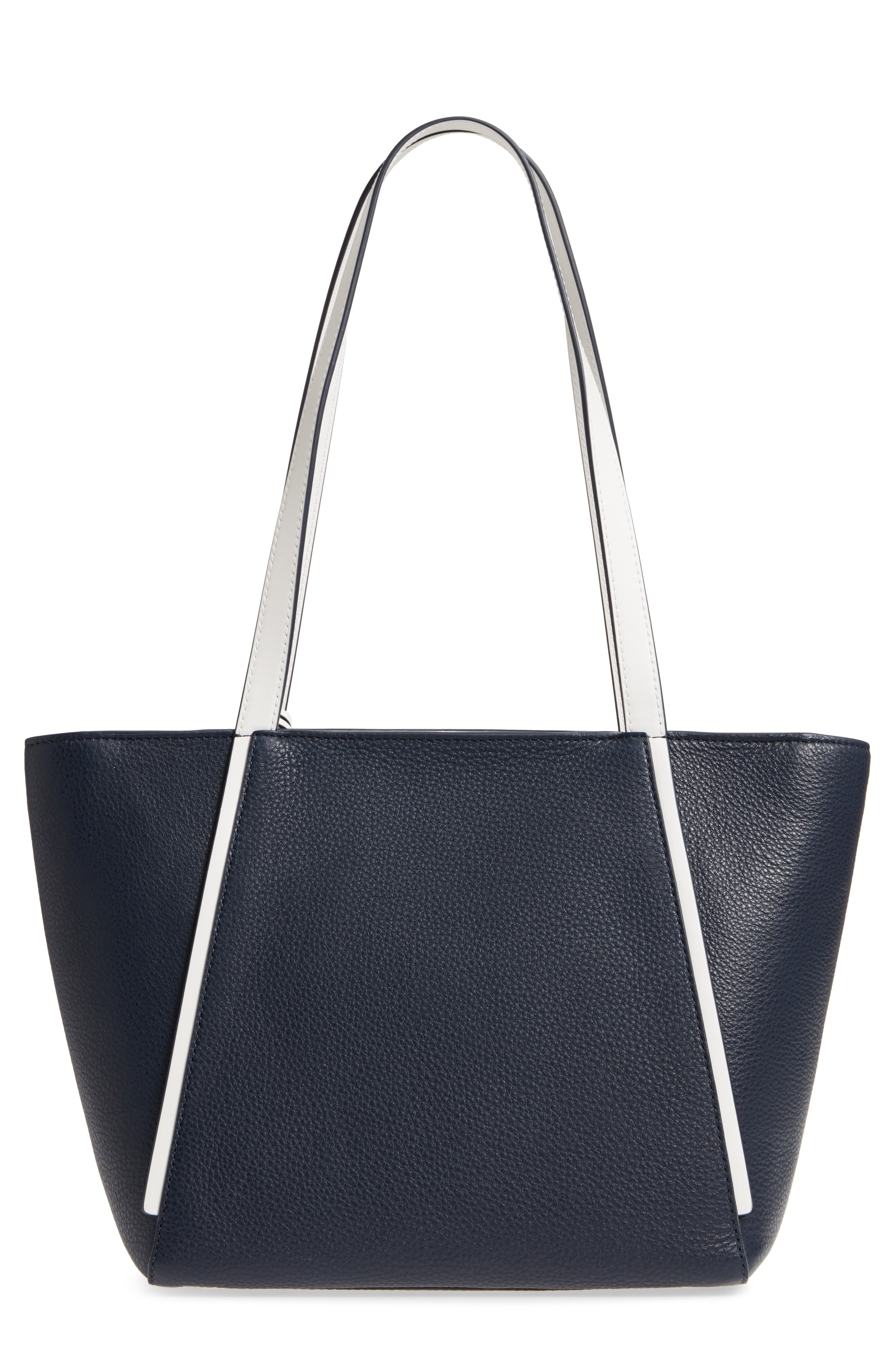 Small Whitney Leather Tote,                             Alternate thumbnail 11, color,