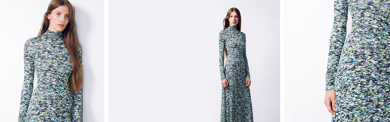 Designer dresses.