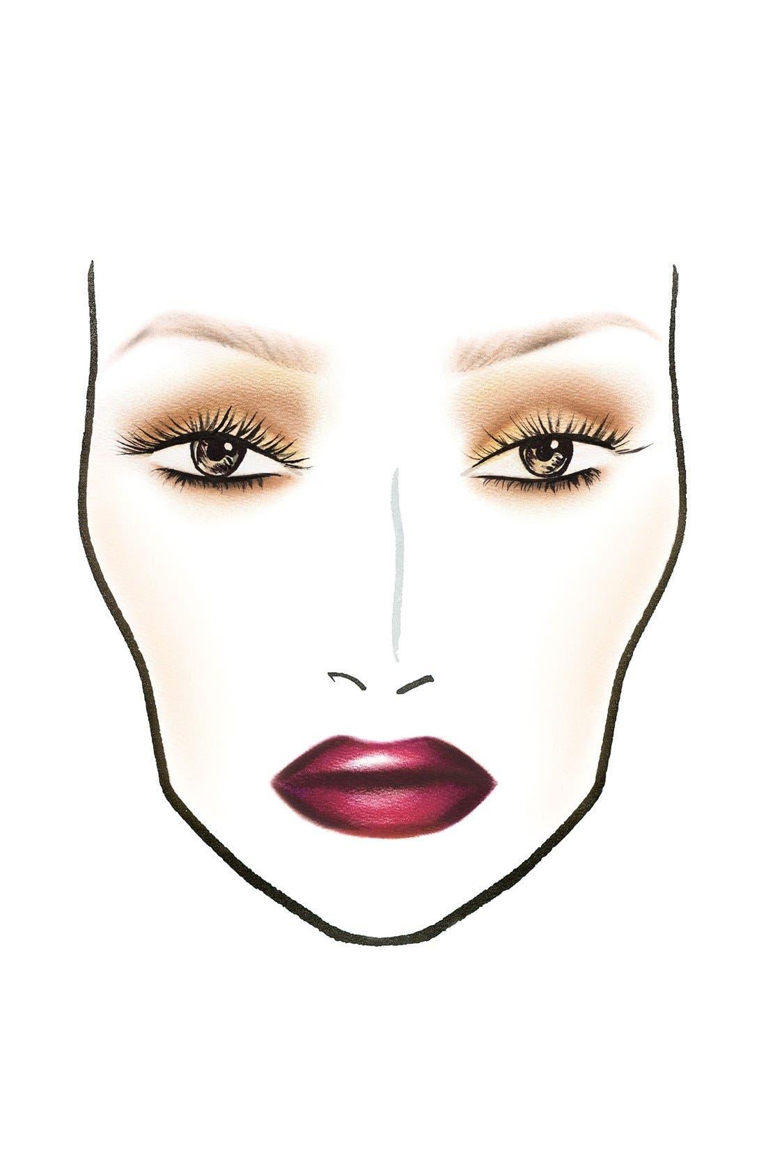 MAC 'Look in a Box - Sassy Siren' Burgundy Lip & Eye Kit,                             Alternate thumbnail 3, color,                             000