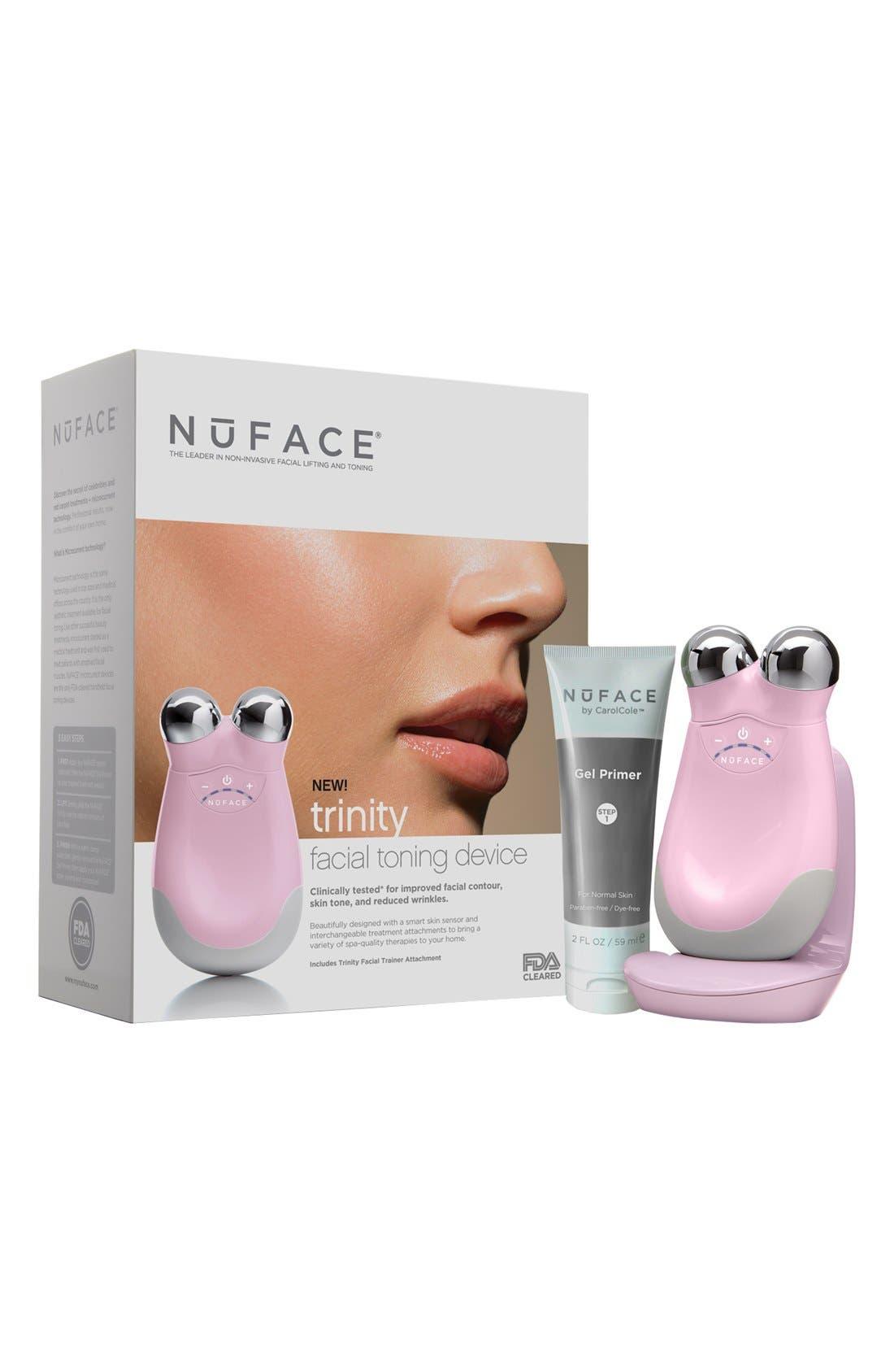 'Trinity - Petal Pink' Facial Toning Device,                             Main thumbnail 1, color,                             000