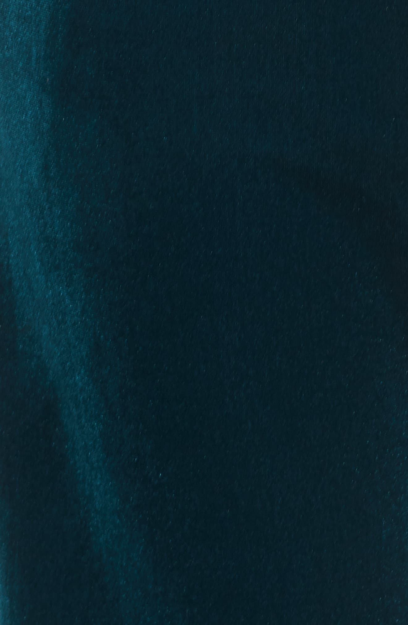 Classic Velvet Sweatpants,                             Alternate thumbnail 6, color,                             TEAL/ RAINBOW