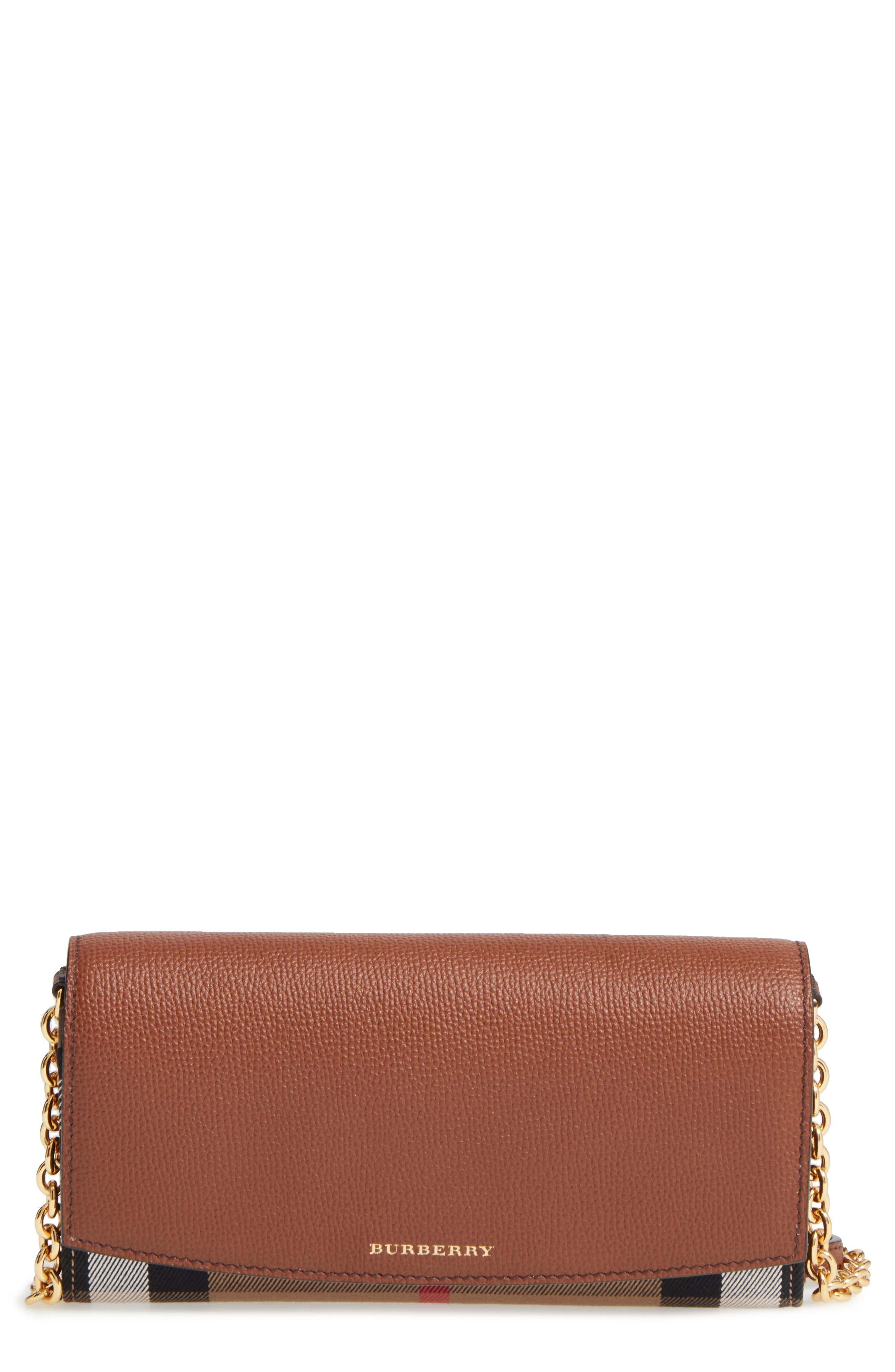 Henley Wallet on a Chain,                         Main,                         color, TAN