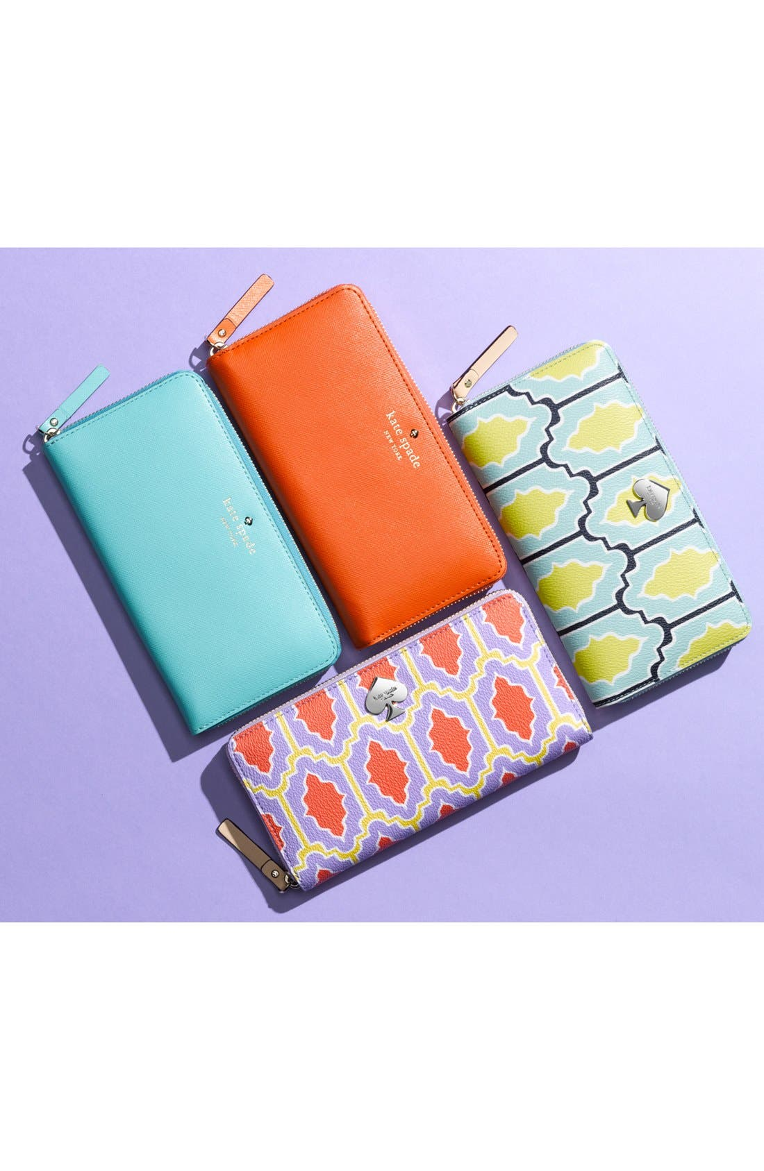 'mikas pond - lacey' zip around wallet,                             Alternate thumbnail 2, color,                             001