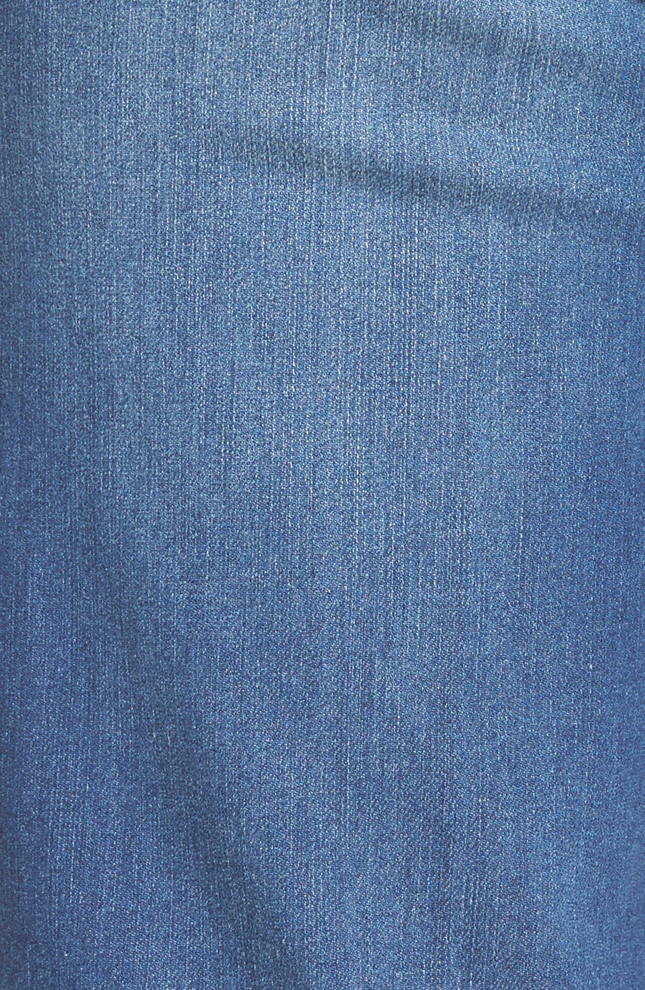 Ab-solution Denim Bermuda Shorts,                             Alternate thumbnail 5, color,                             420