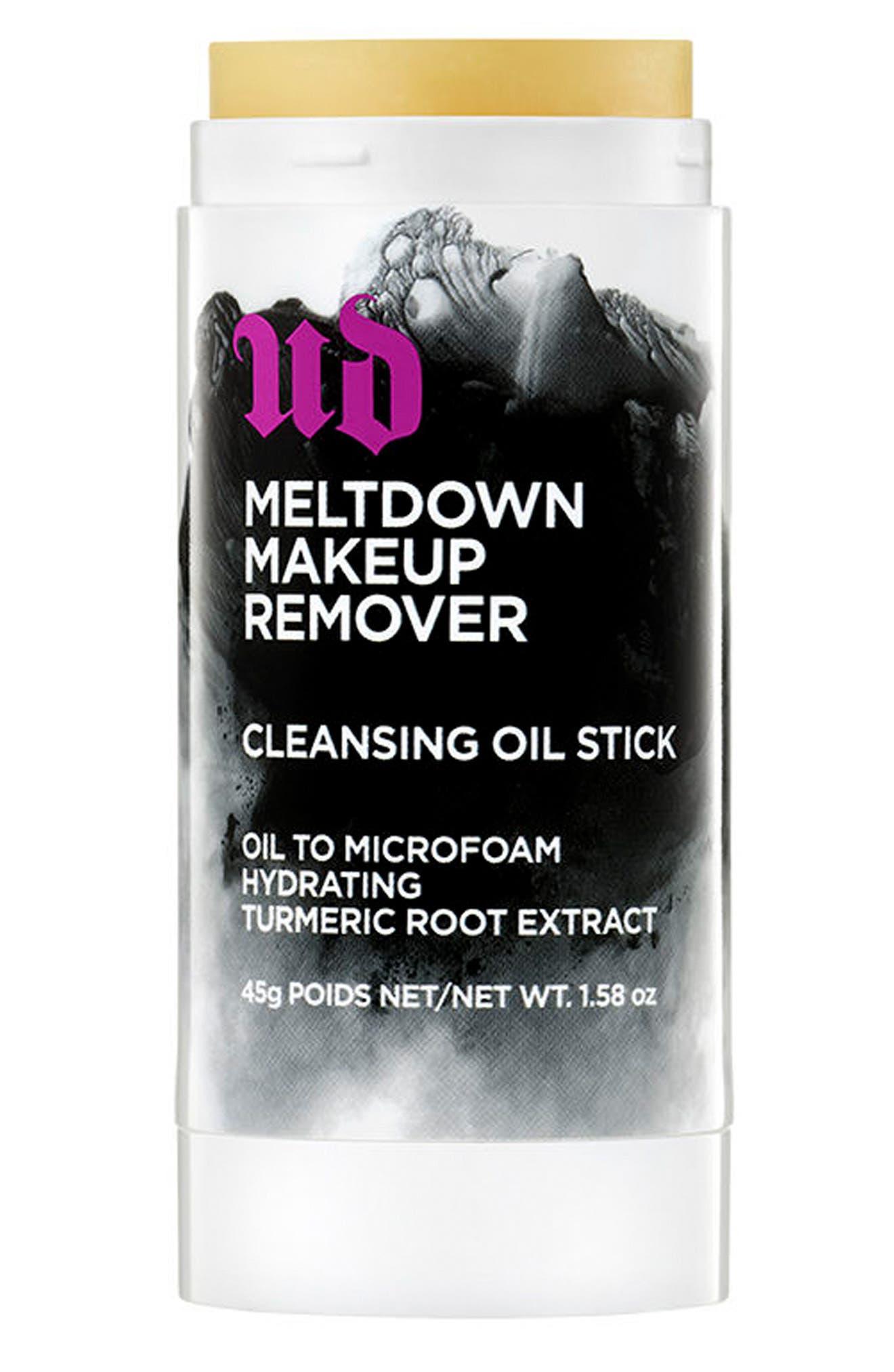 Meltdown Makeup Remover Cleansing Oil Stick,                             Alternate thumbnail 2, color,                             000