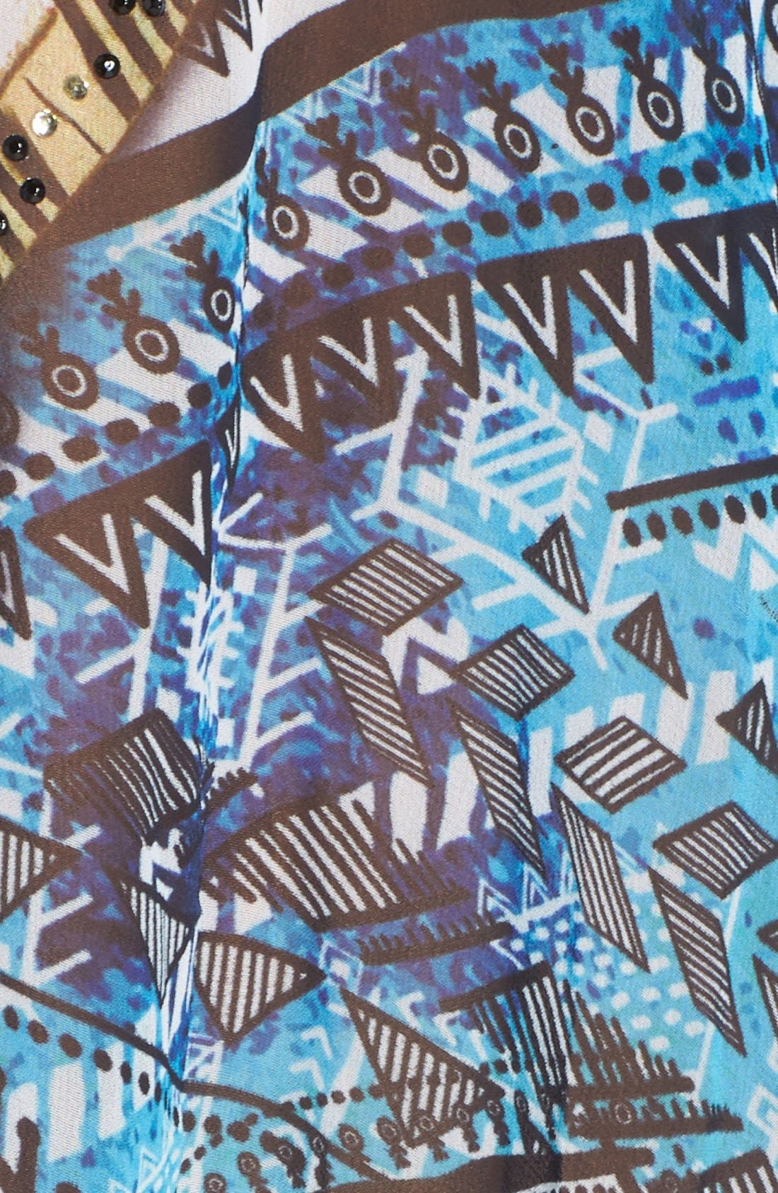 'Fiji' Short Kaftan,                             Alternate thumbnail 2, color,                             400
