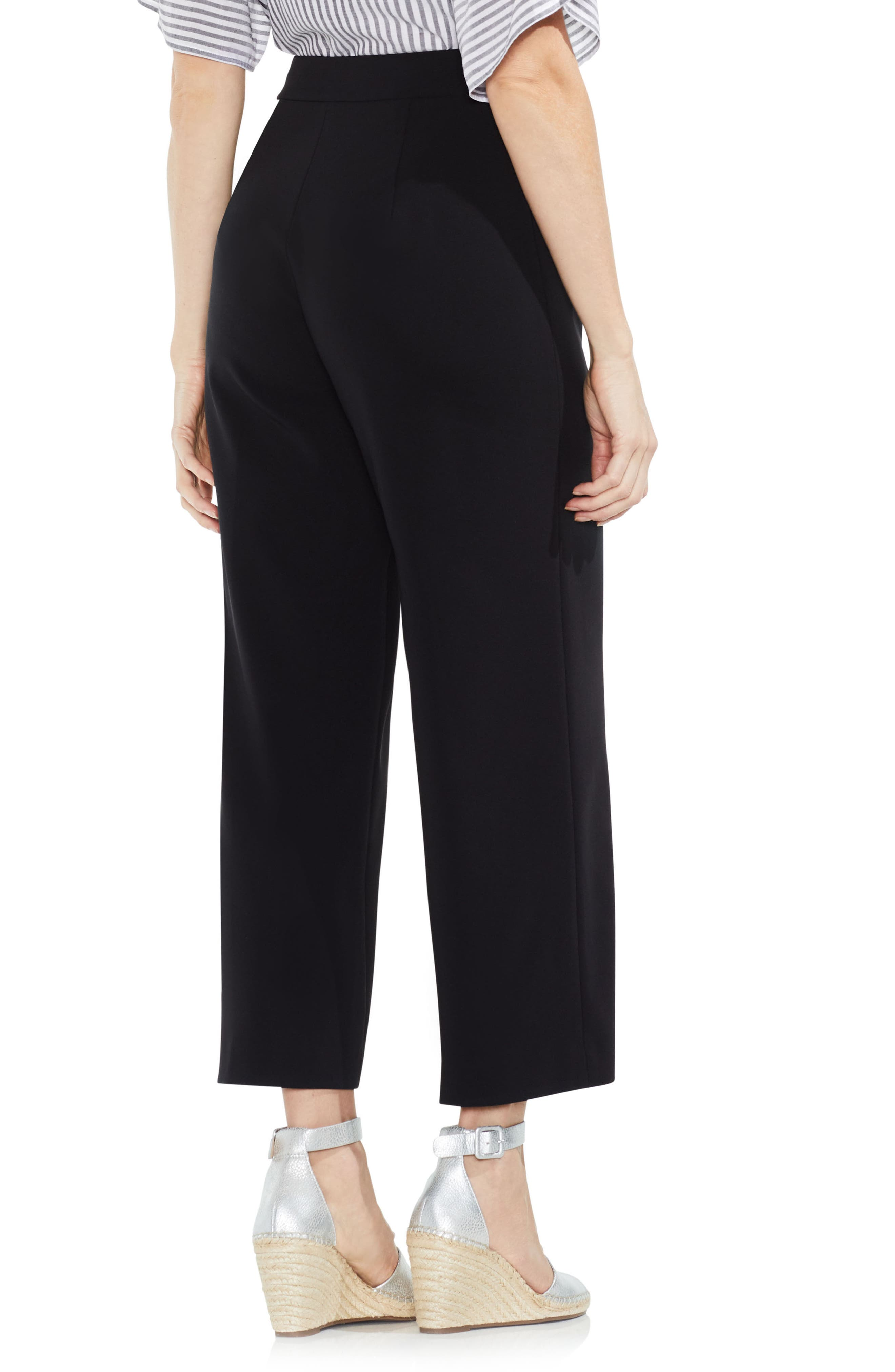 High-Waist Crop Pants,                             Alternate thumbnail 6, color,