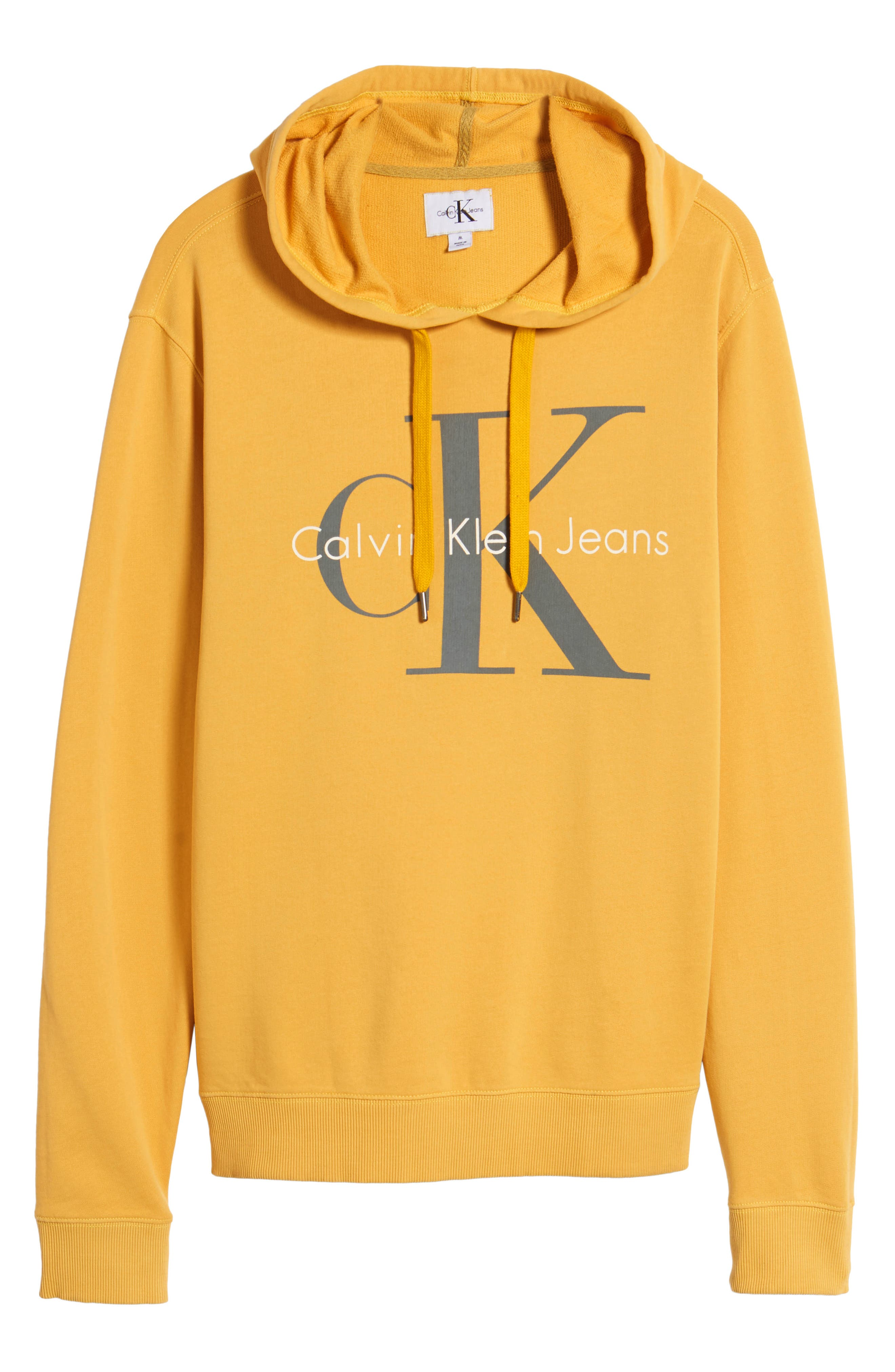 Pop Color Hoodie,                             Alternate thumbnail 6, color,                             SPECTRA YELLOW