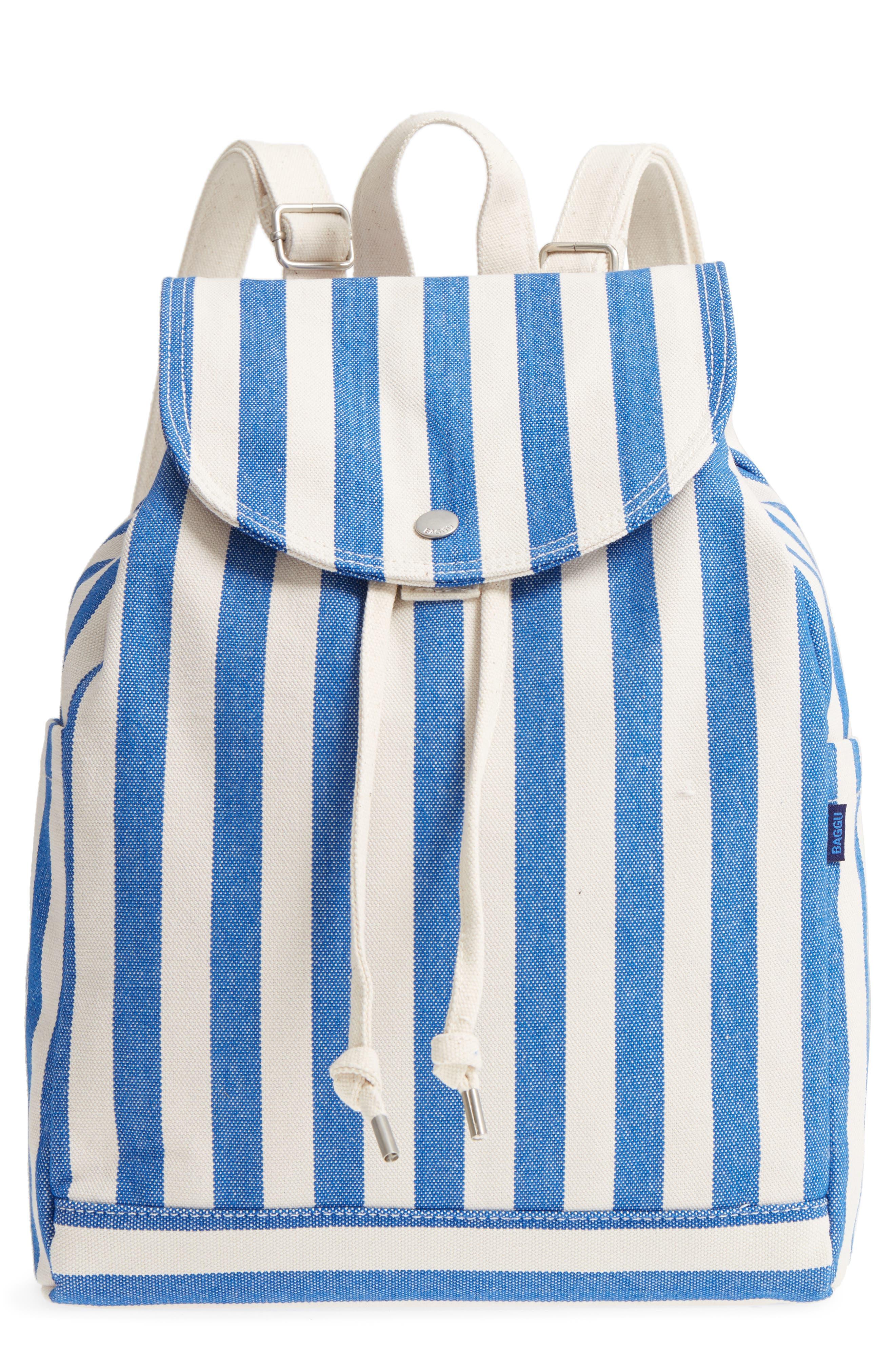 Drawstring Canvas Backpack,                             Main thumbnail 1, color,
