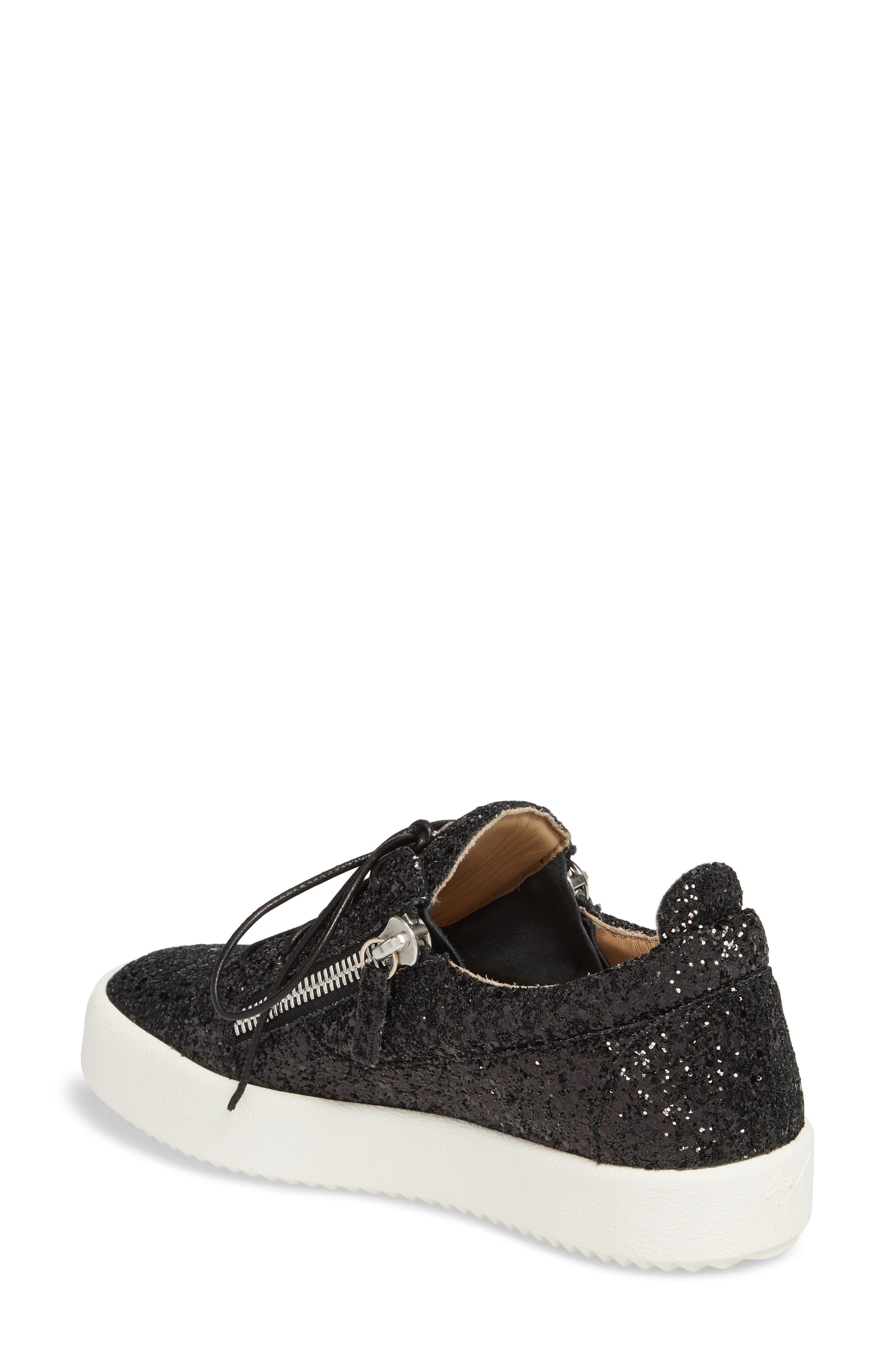May London Low Top Sneaker,                             Alternate thumbnail 2, color,                             BLACK