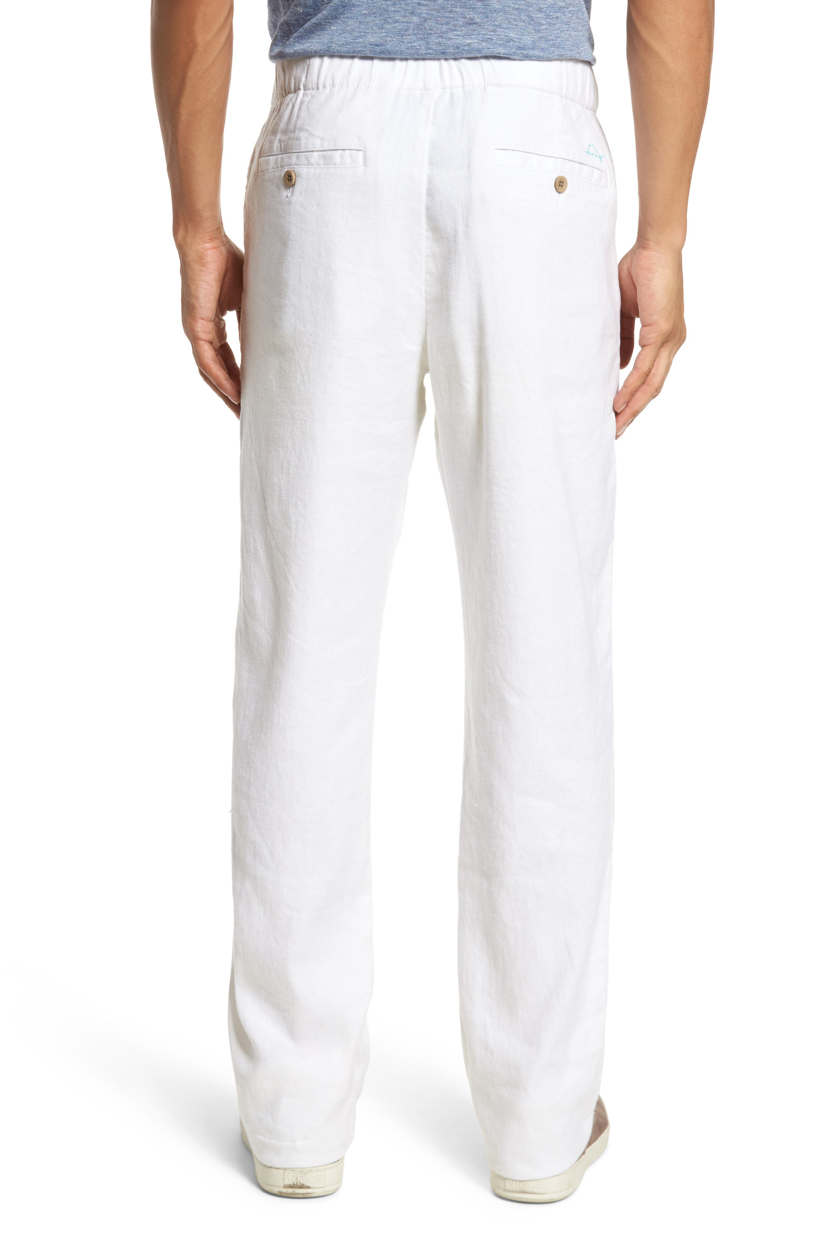 Relaxed Linen Pants,                             Alternate thumbnail 2, color,                             CONTINENTAL