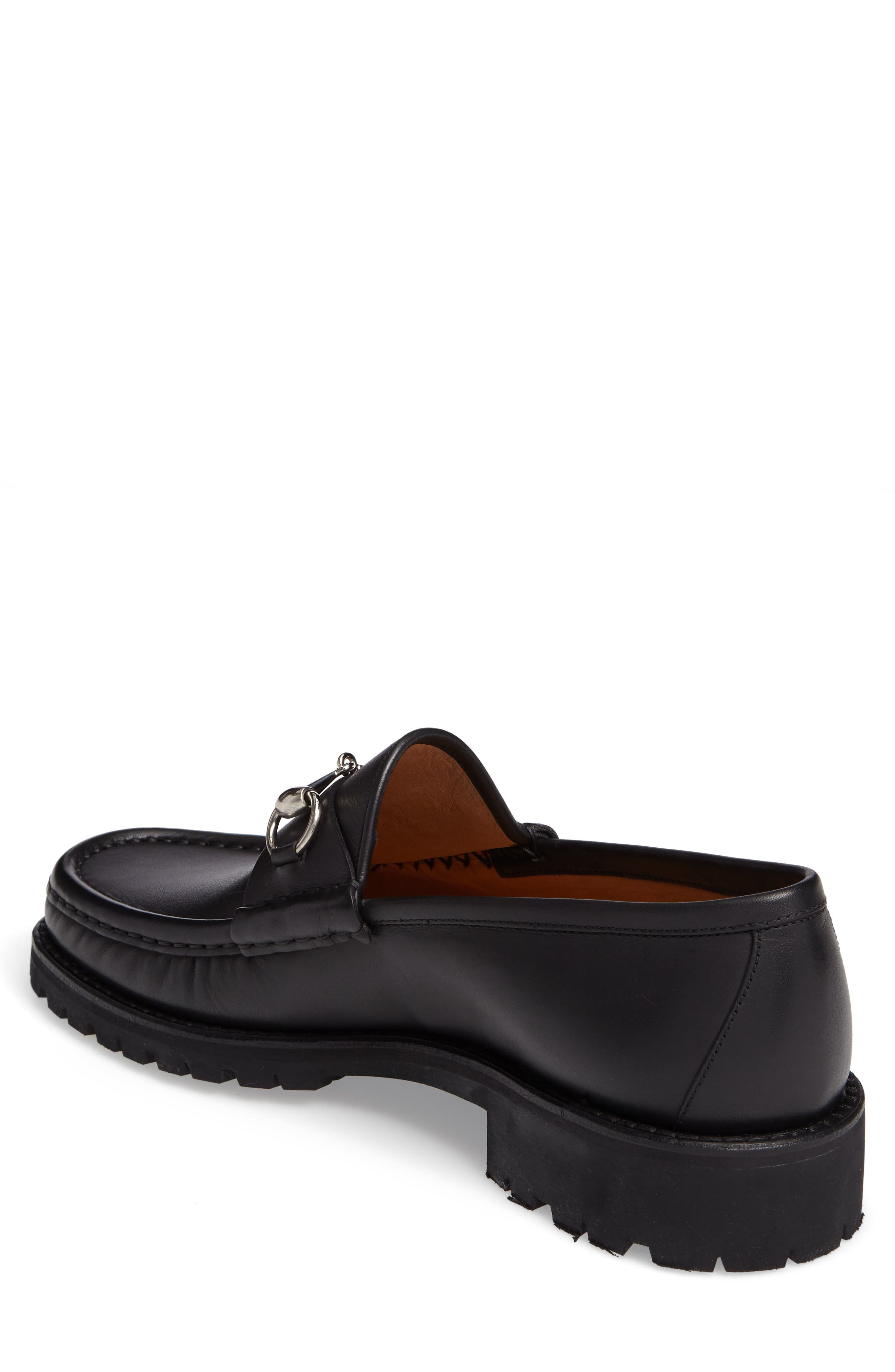Classic Lug Sole Moccasin,                             Alternate thumbnail 2, color,                             1000 BLACK