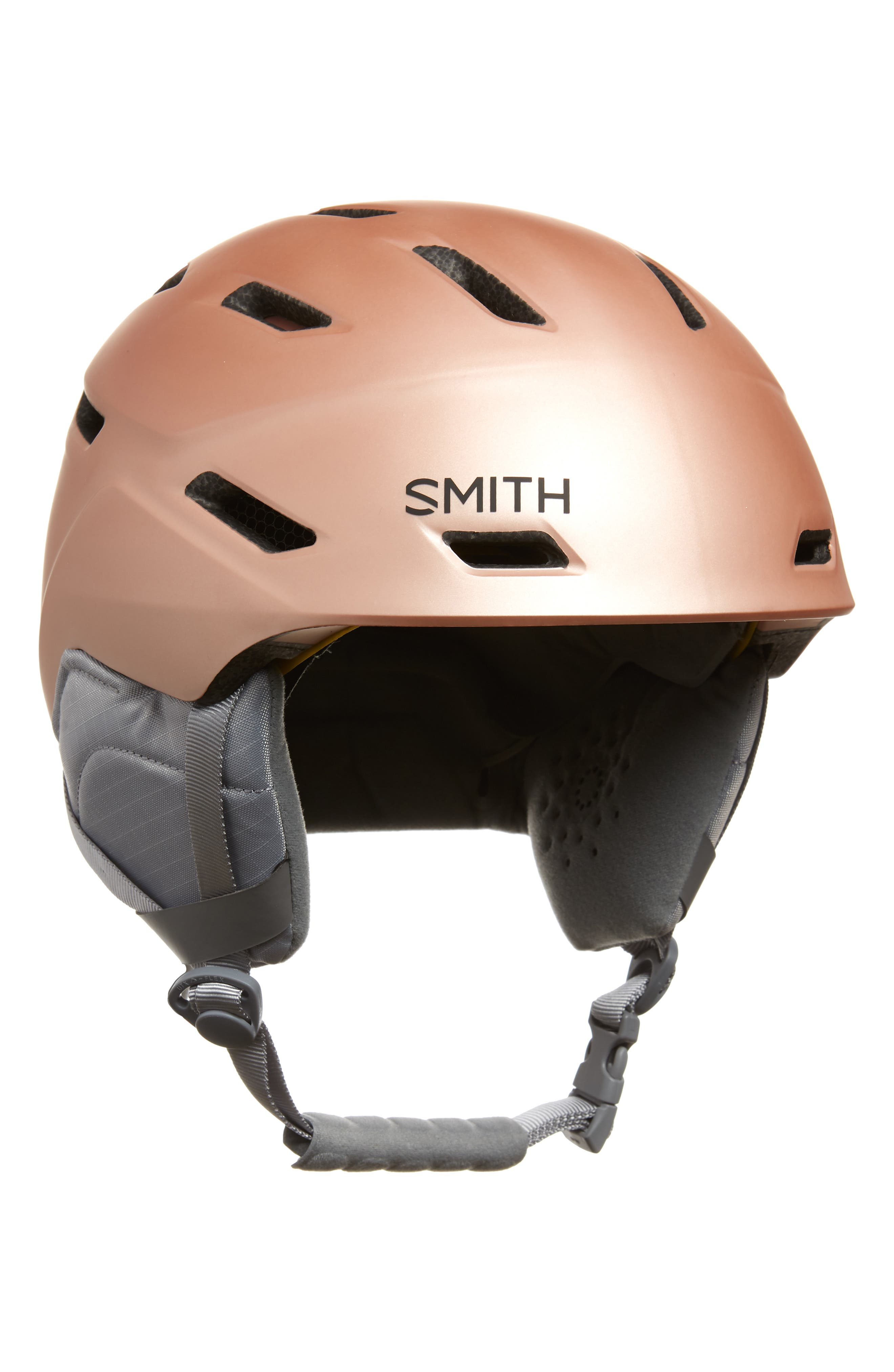 Mirage With Mips Snow Helmet - Pink in Matte Champagne