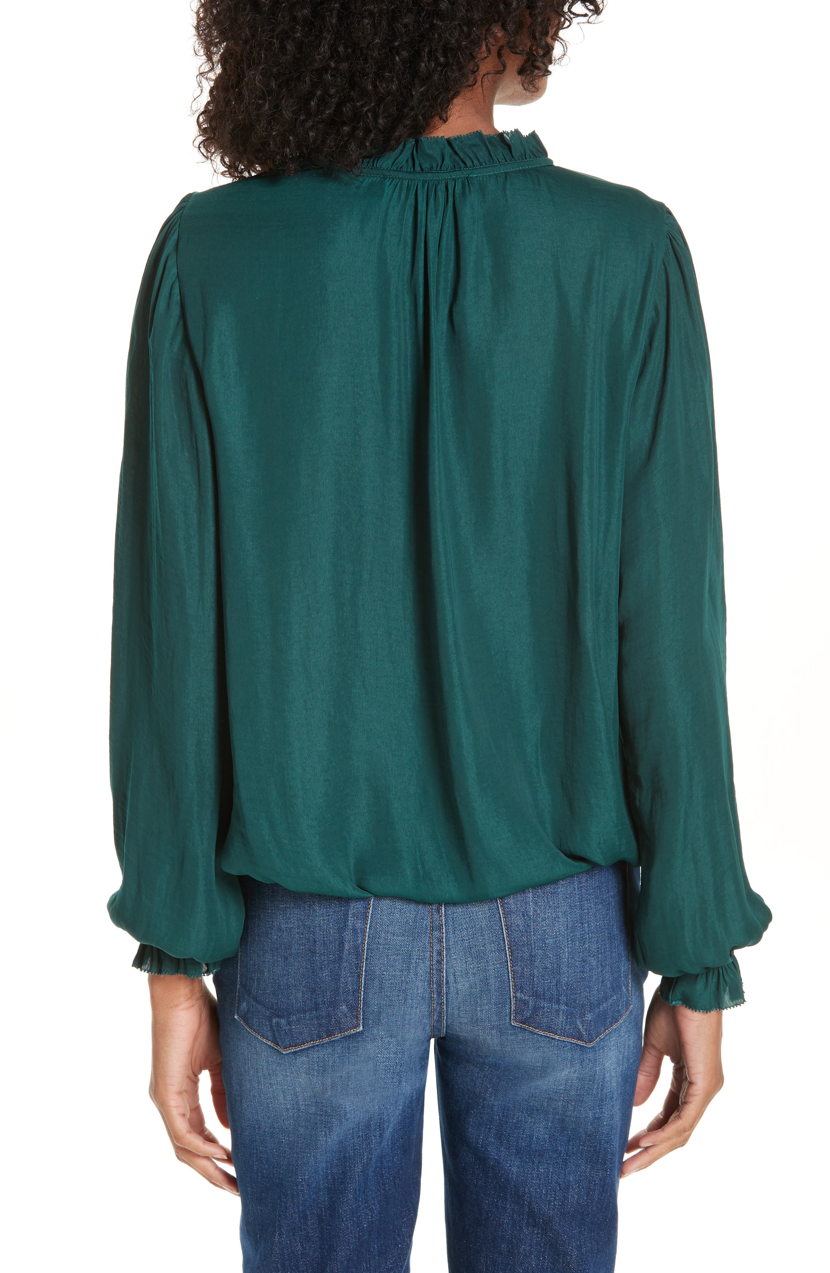 Cinched Hem Blouse,                             Alternate thumbnail 2, color,                             305