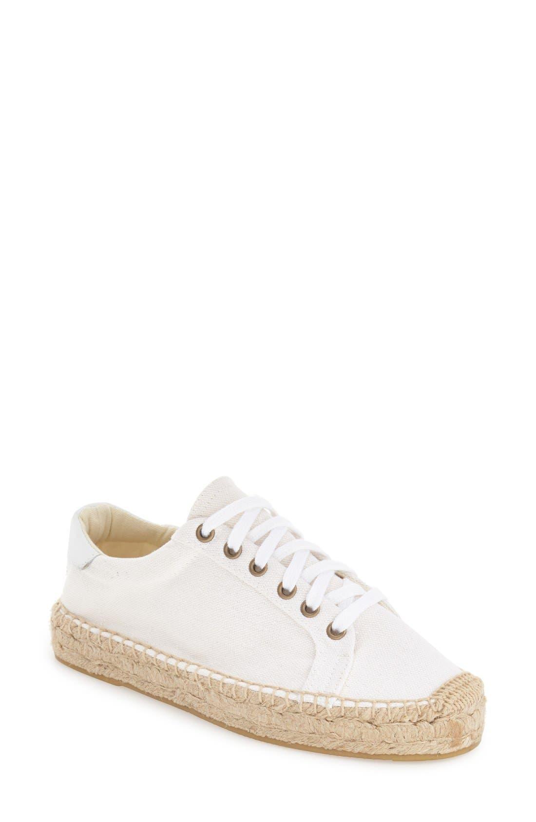 Espadrille Platform Sneaker,                             Main thumbnail 1, color,                             100
