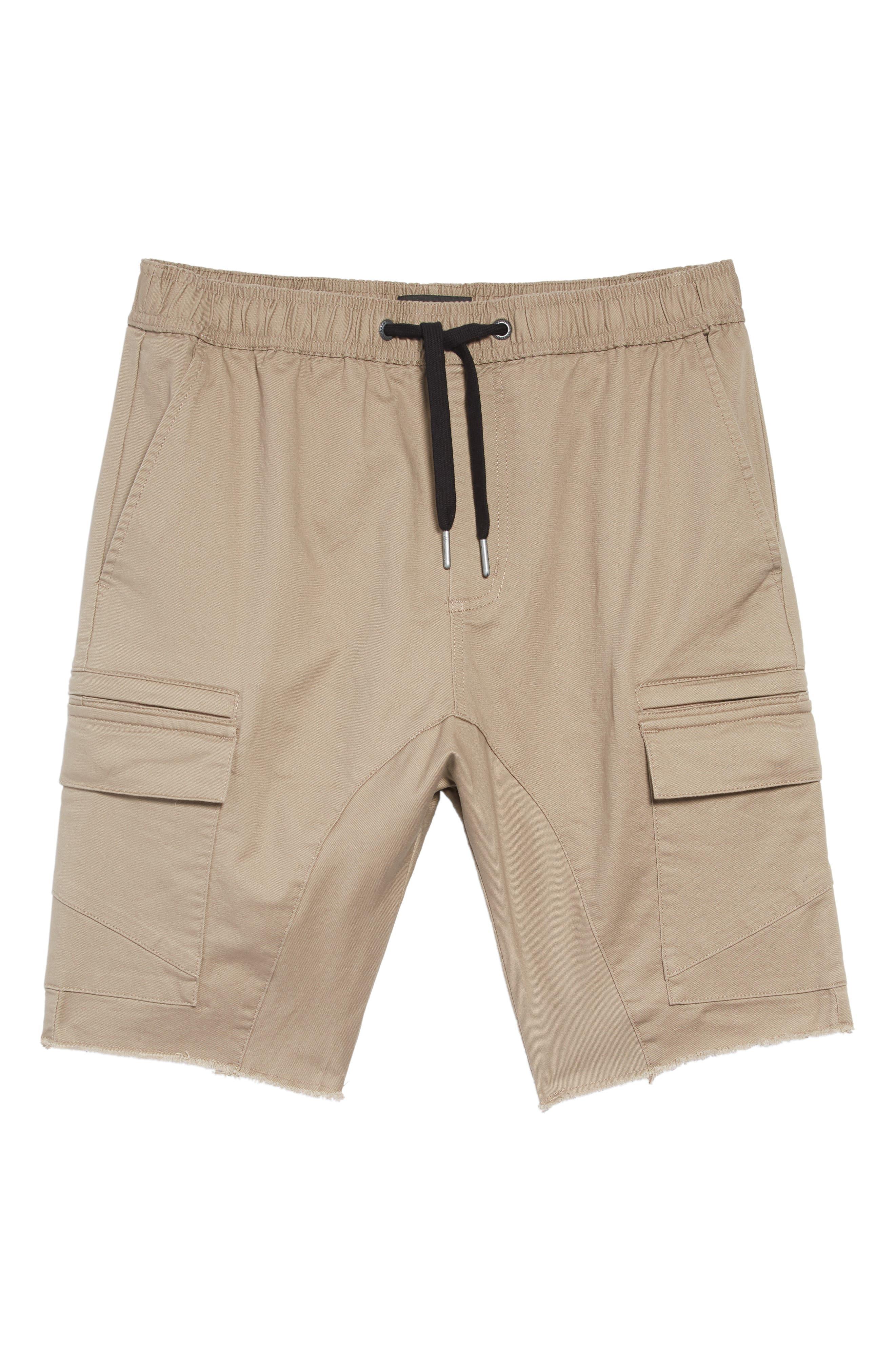 Sureshot Cargo Shorts,                             Alternate thumbnail 4, color,                             SAND
