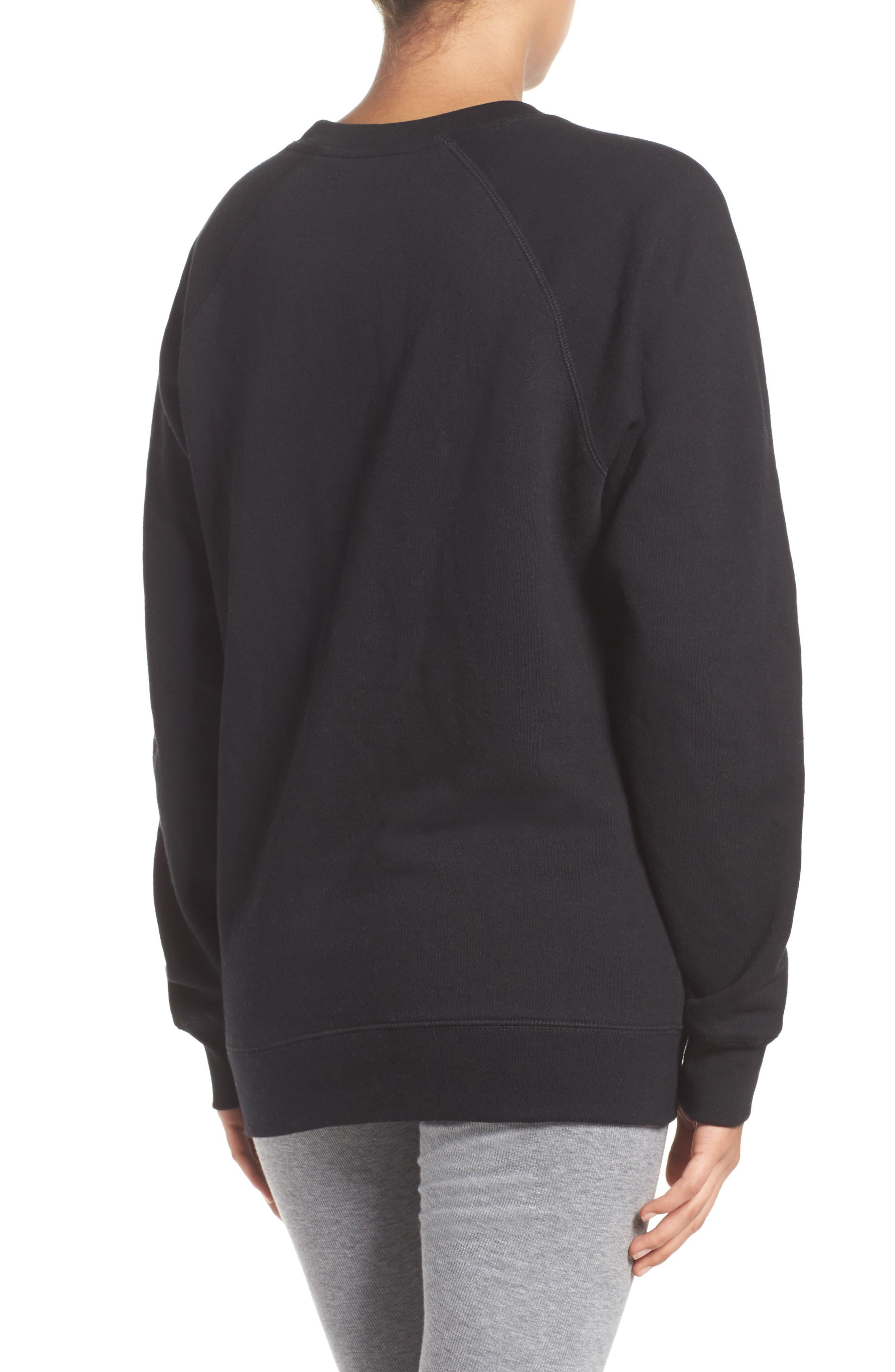 Redhead Lounge Sweatshirt,                             Alternate thumbnail 2, color,                             001