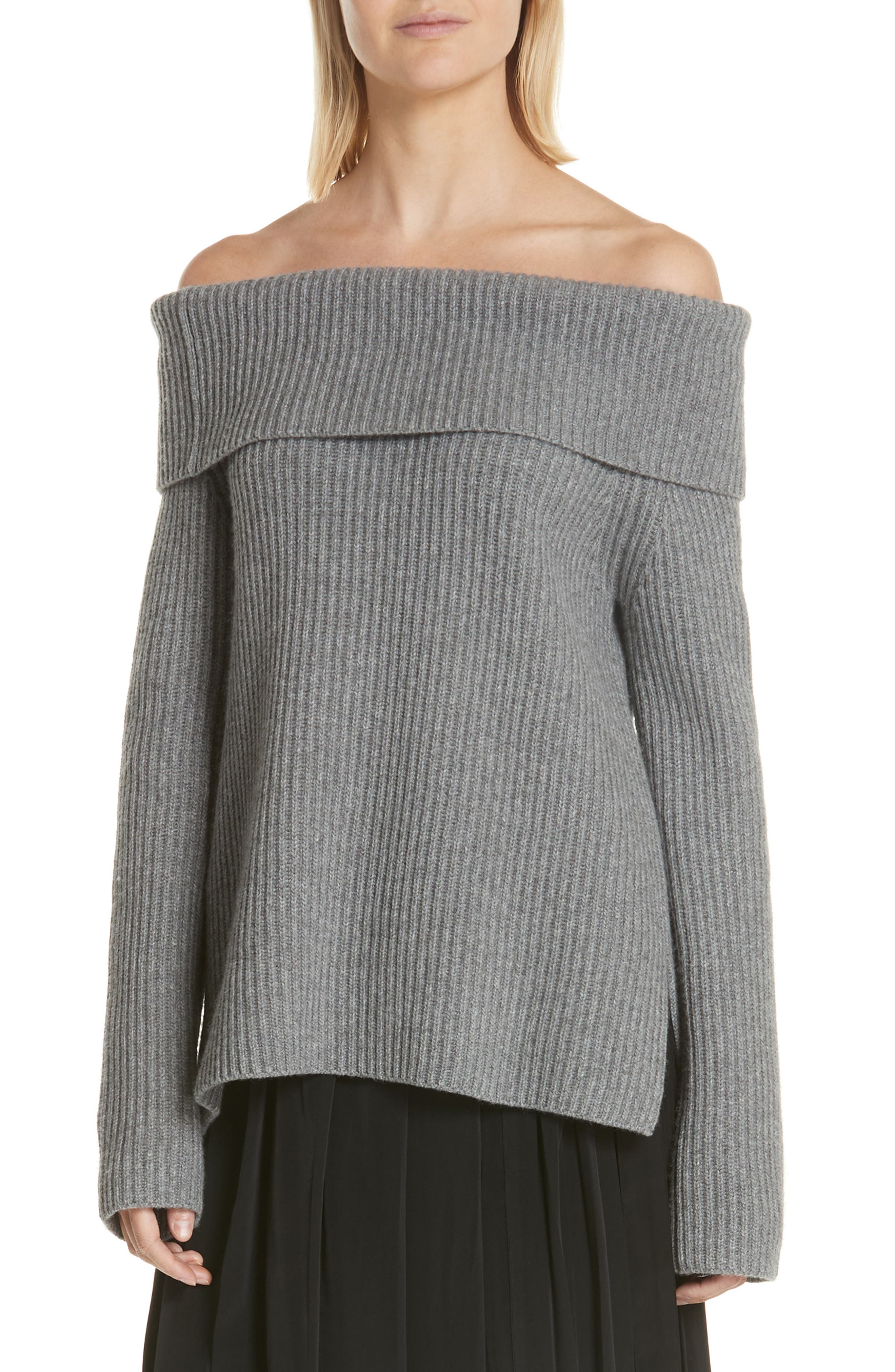 ROBERT RODRIGUEZ Off the Shoulder Sweater, Main, color, 020