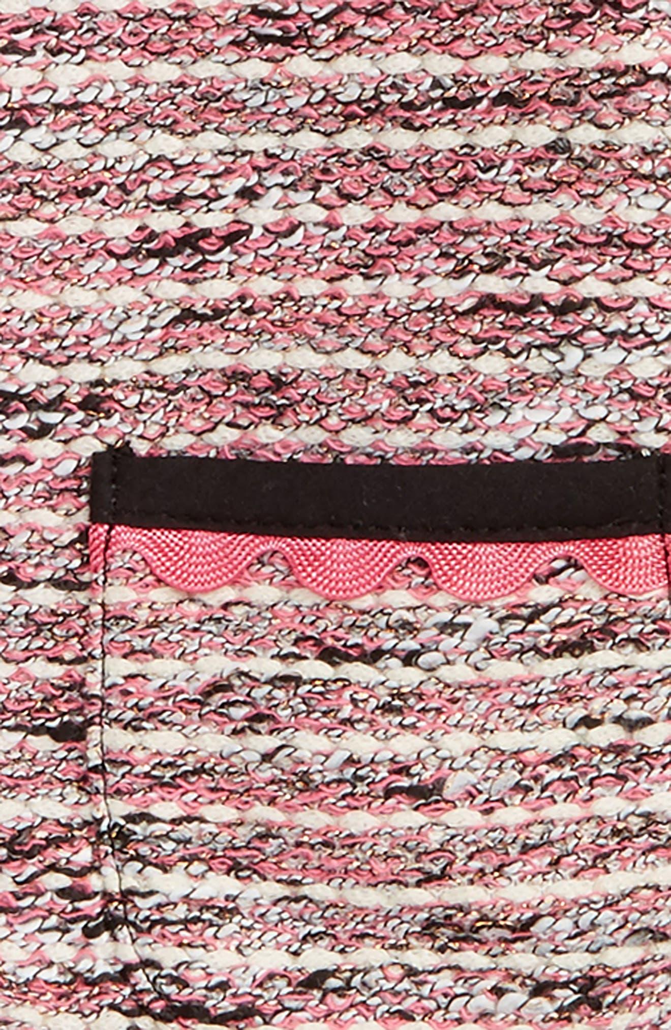 tweed jacket,                             Alternate thumbnail 2, color,                             650